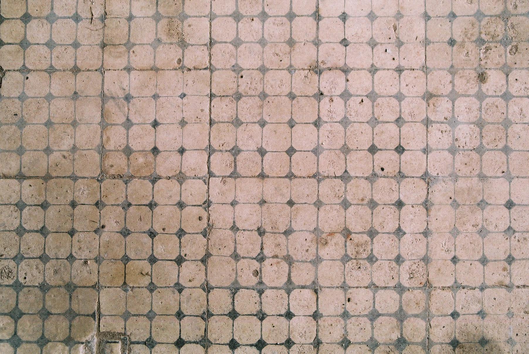 Floor tiles Two, Dos Rios.JPG