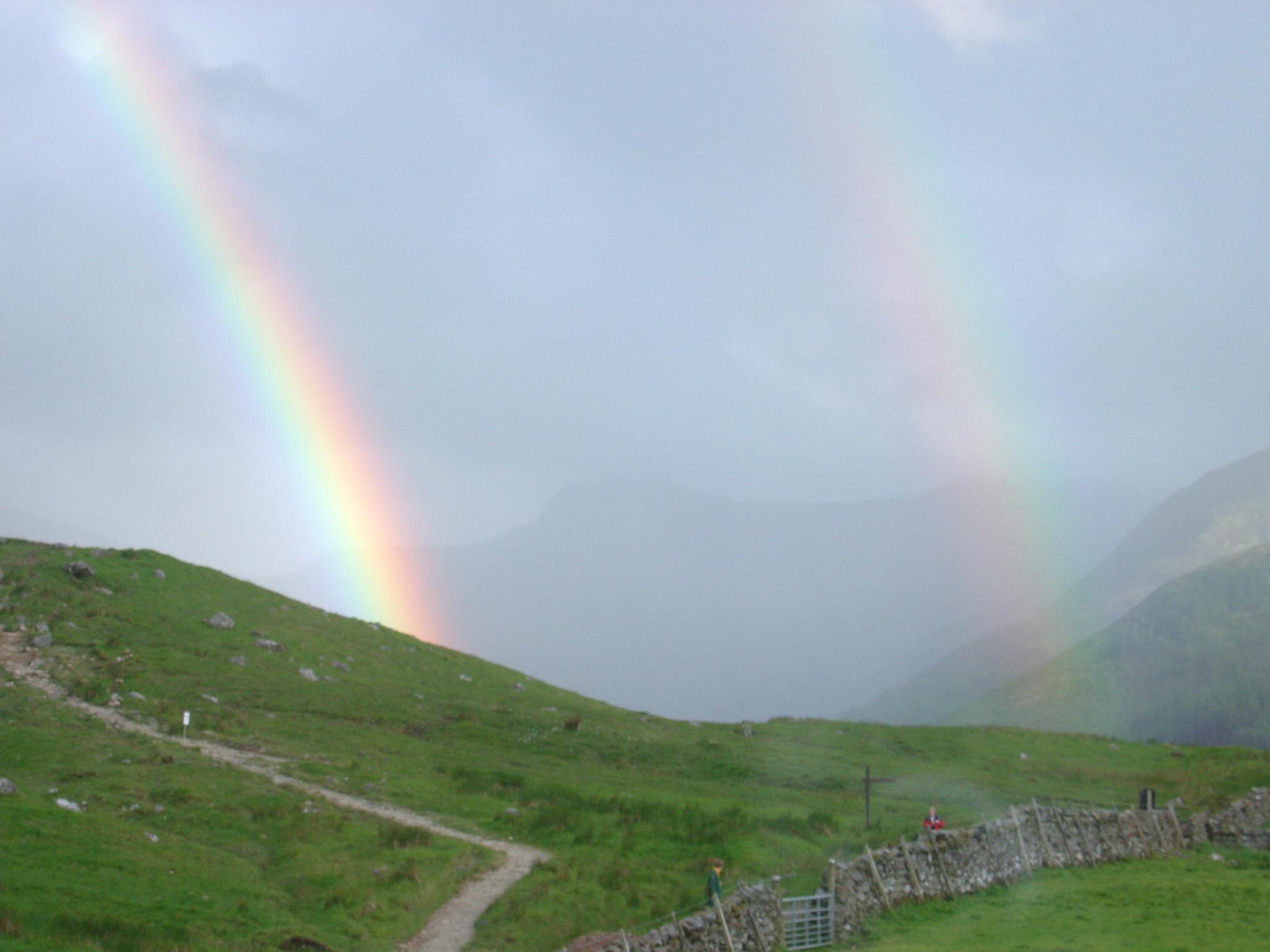 Two Rainbows, Ben Nevis.JPG