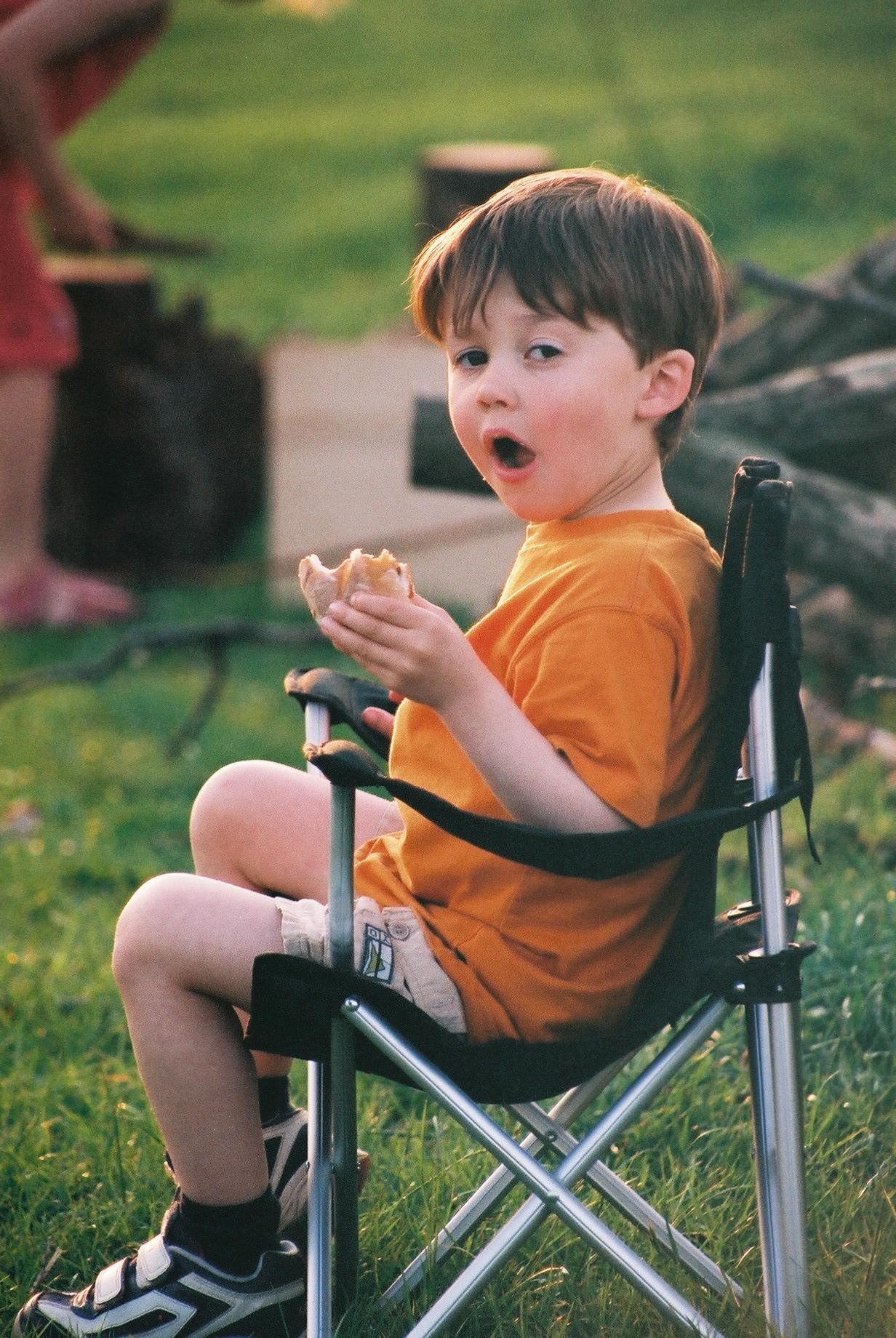Boy at Barbecue.JPG