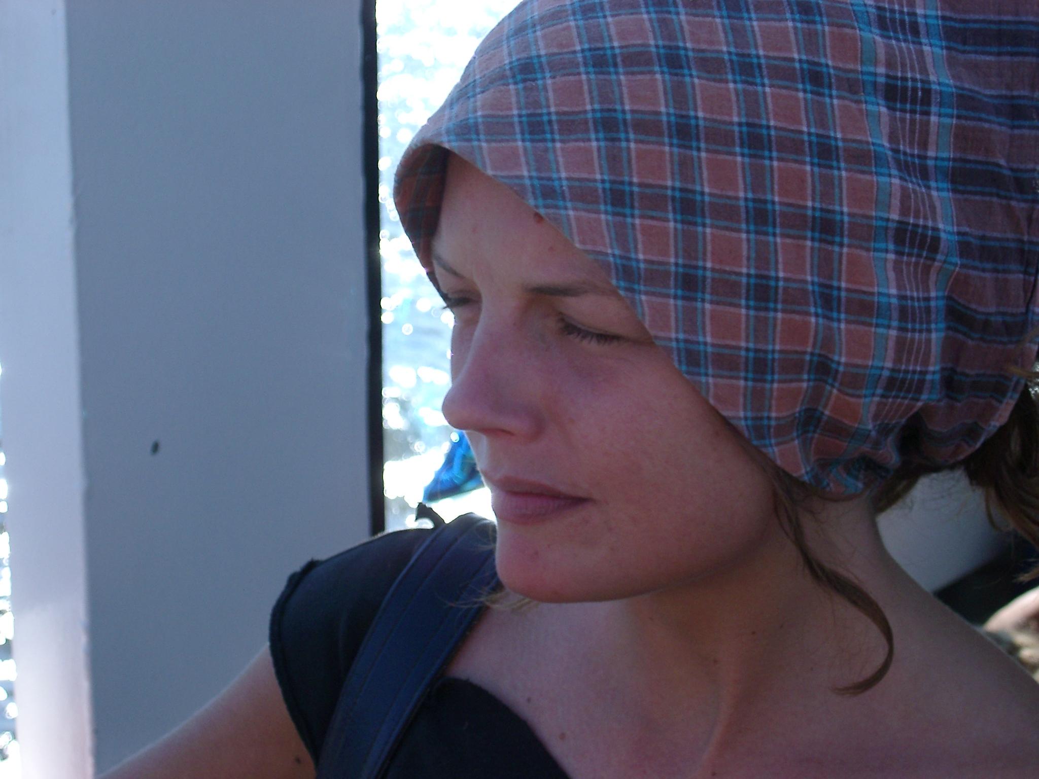 Lotta in Headscarf.JPG