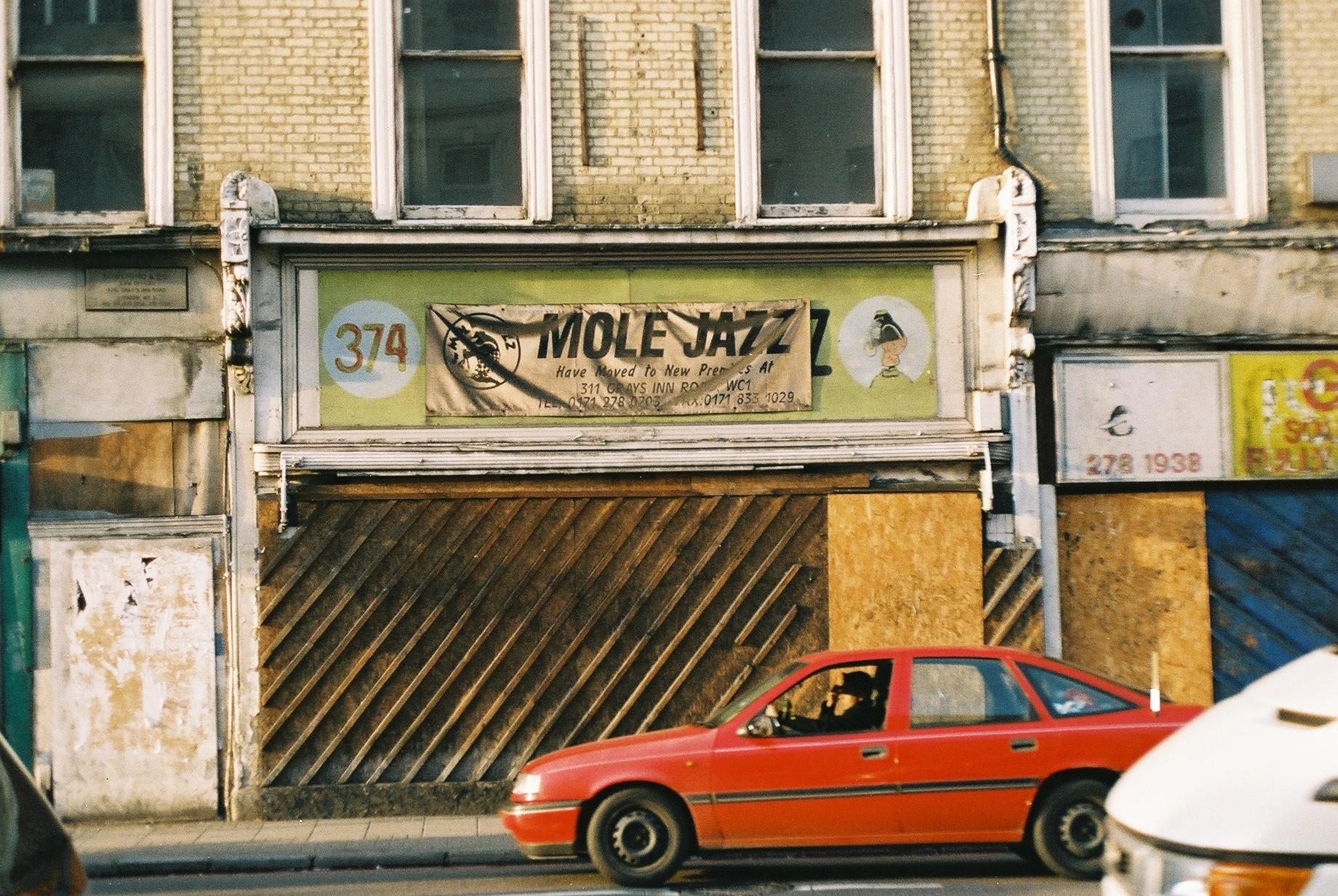 Formerly Mole Jazz, Kings Cross.JPG