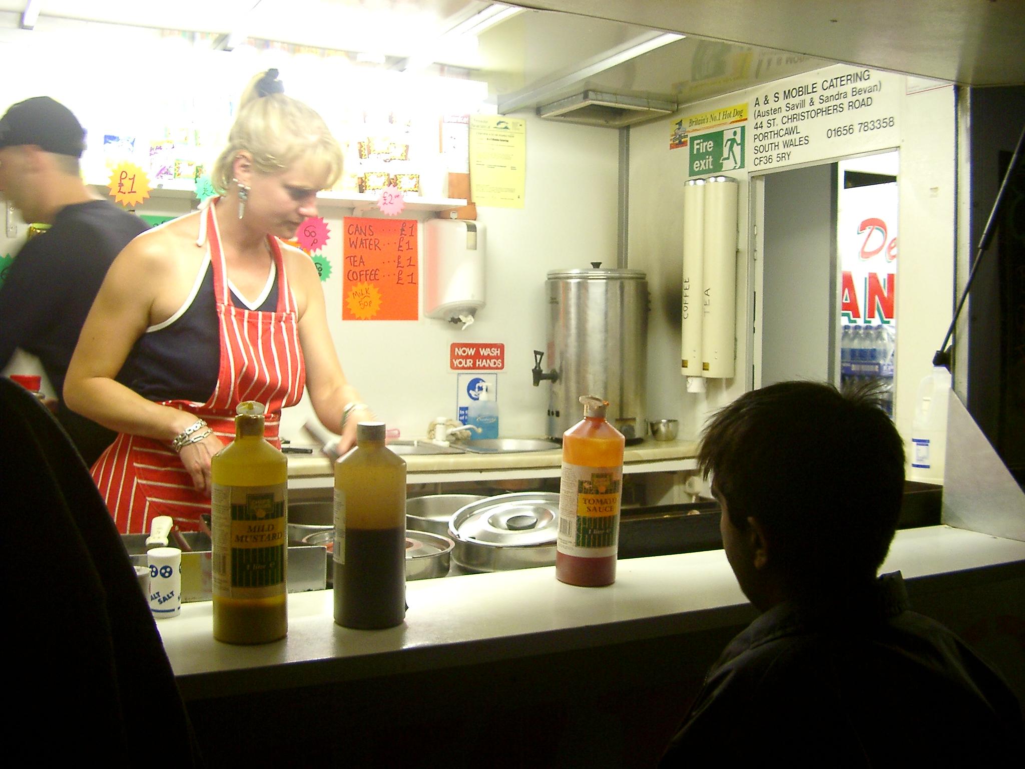 Hot Dogs, Glastonbury.jpg