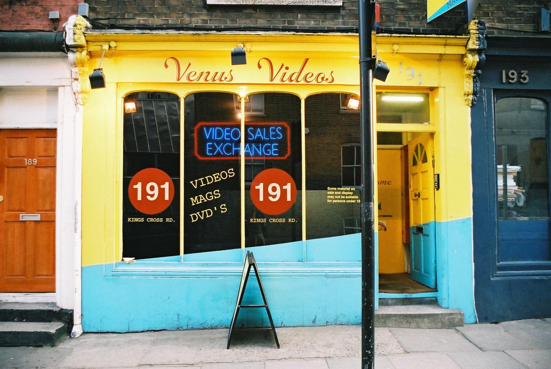 Venus Videos, Kings Cross.JPG