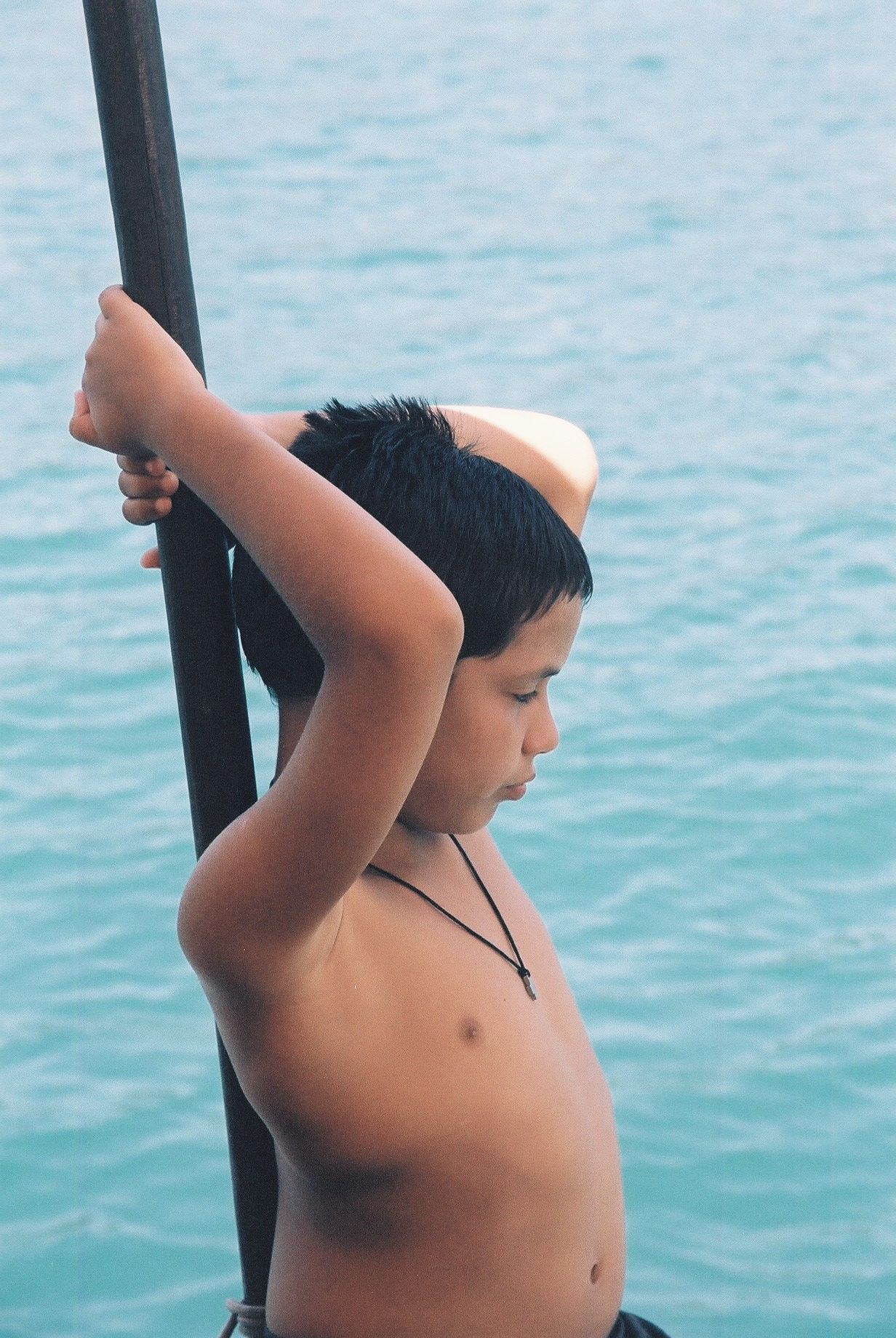 Boy on Boat, Parati.JPG