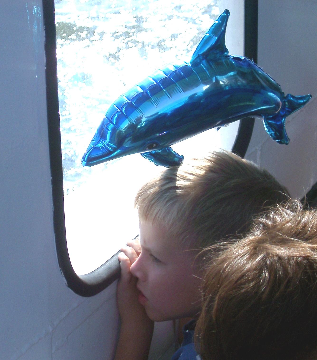 Boy with Dolphin, Stockholm.JPG