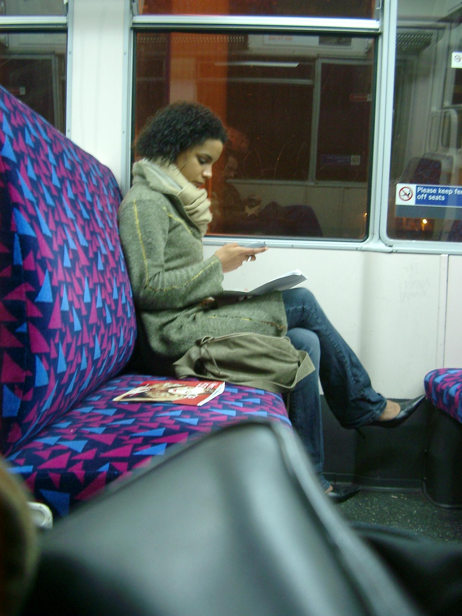 Girl, East London Line.JPG