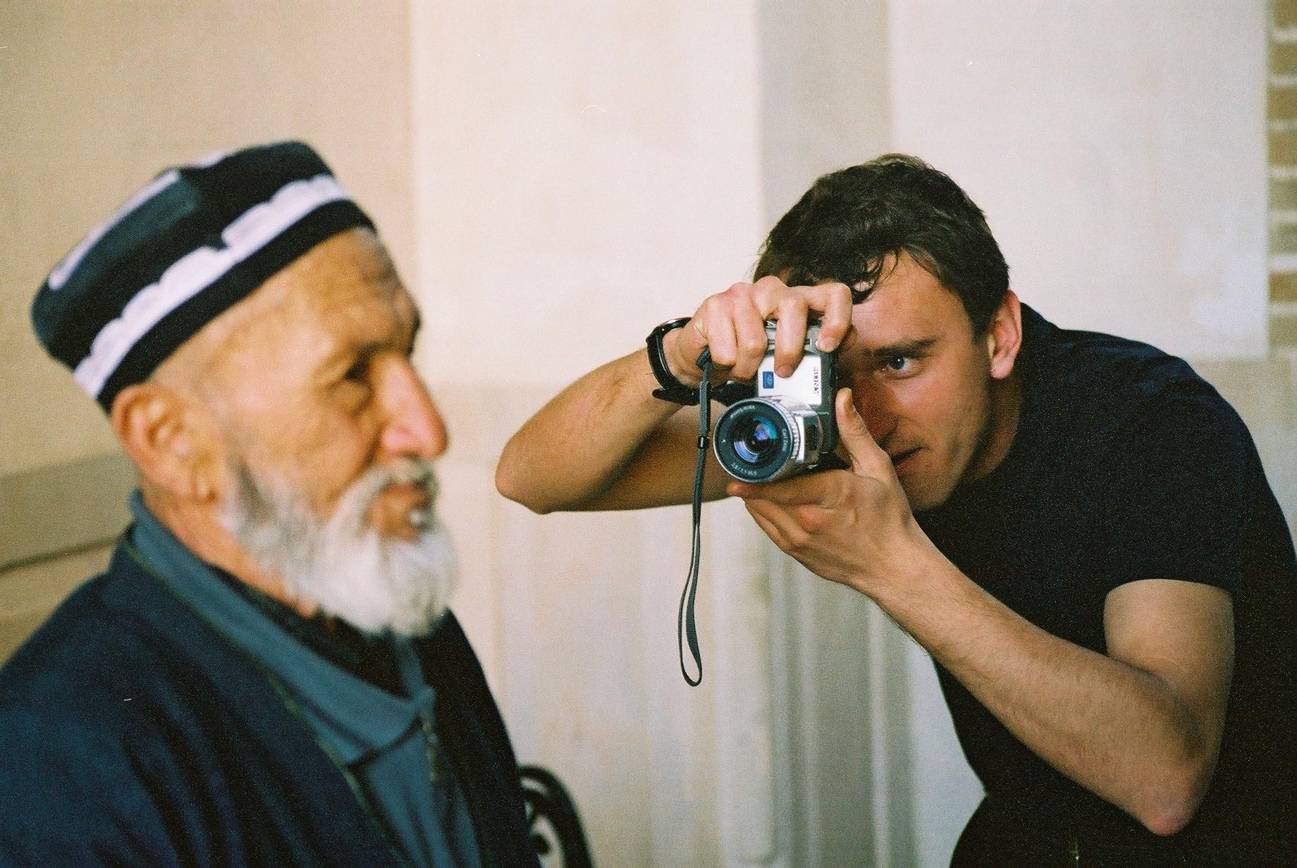 Romil Snaps Mullah, Samarkand.jpg
