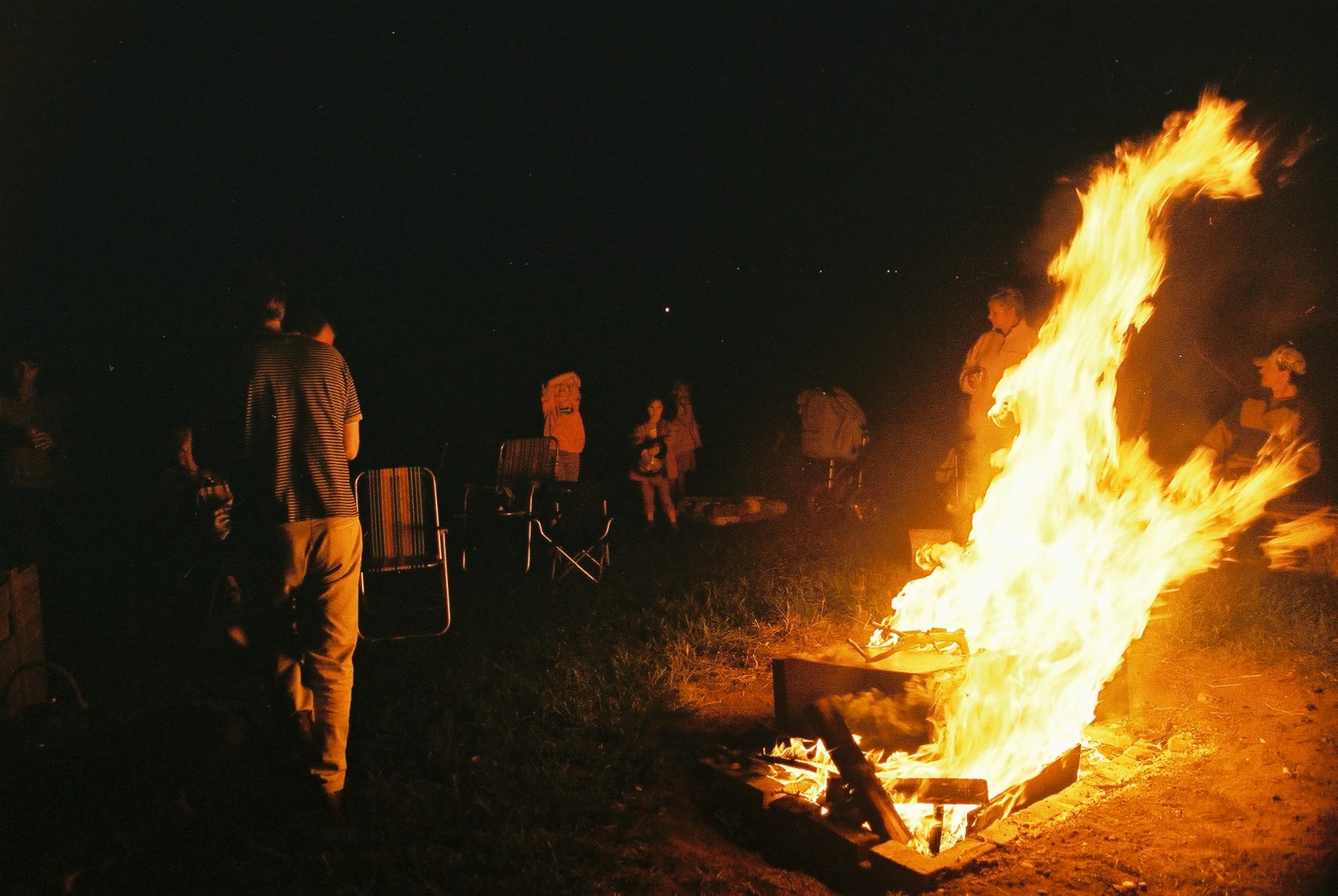 Barbecue, Spernal Farm.JPG