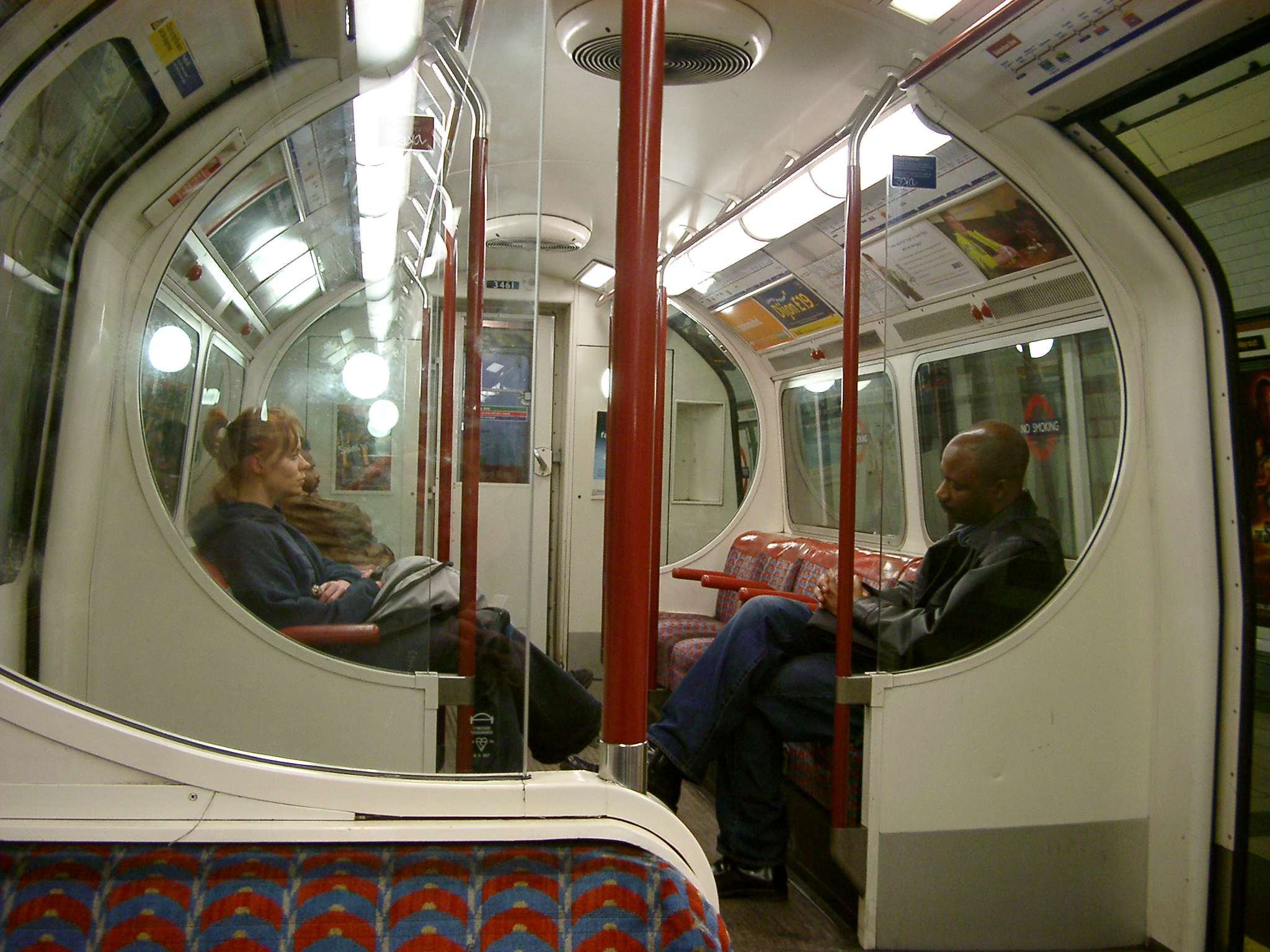 Central Line Carriage, London.JPG