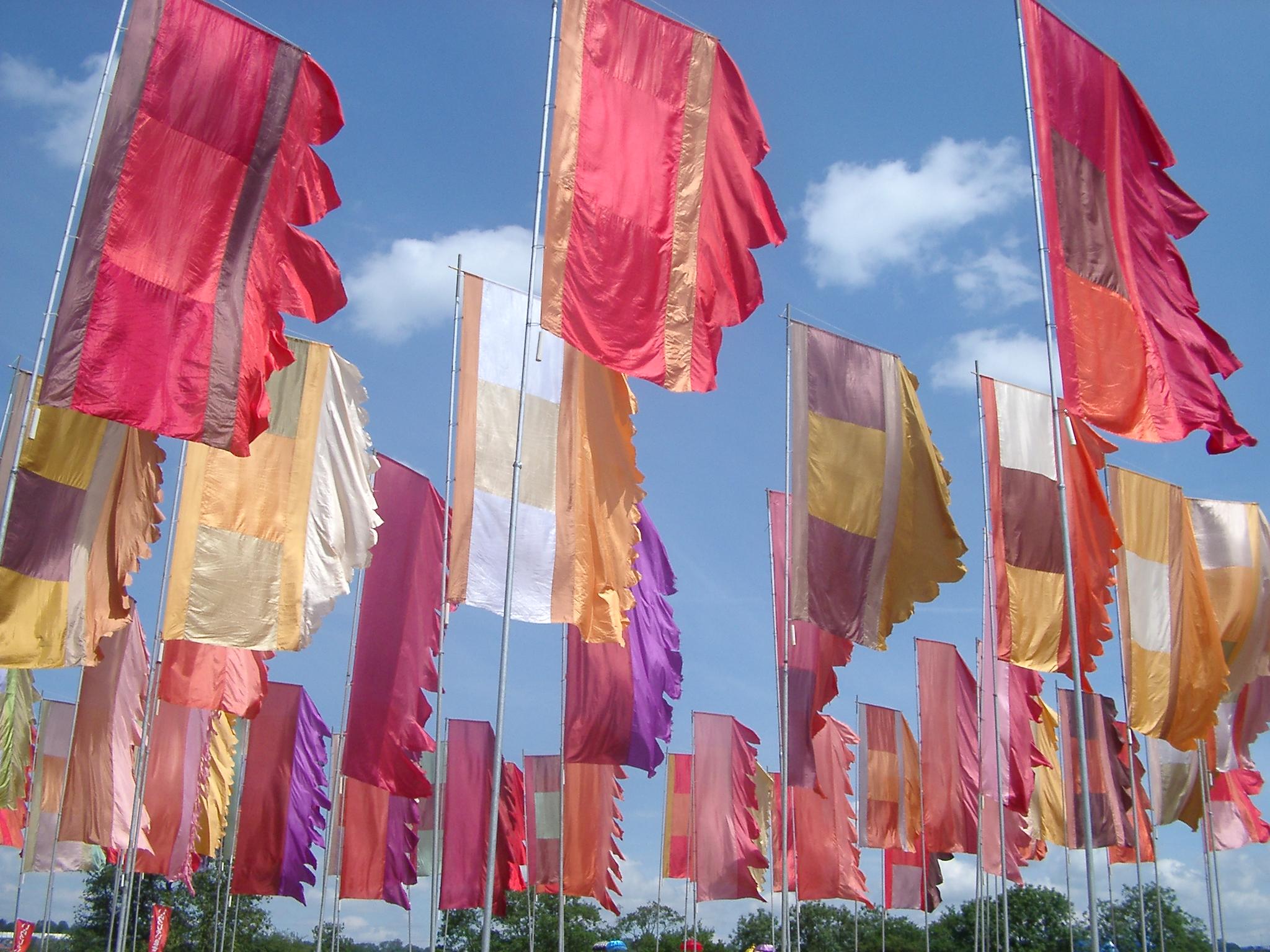 Flags, Glastonbury.jpg
