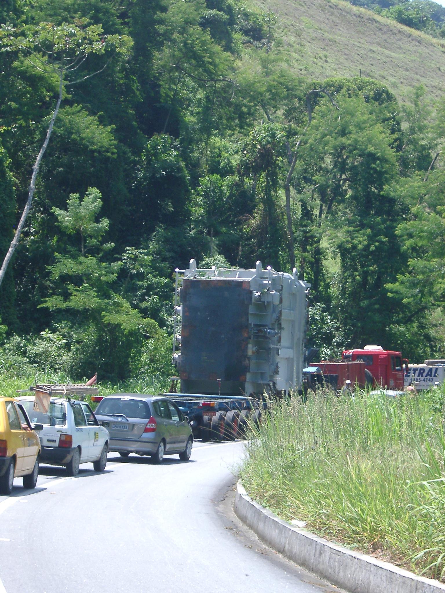 Nuclear Waste Truck, Vila do Frade.JPG