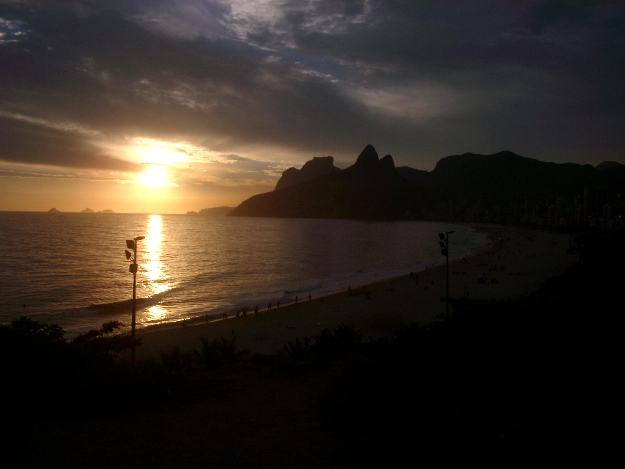 Sunset, Ipanema.JPG