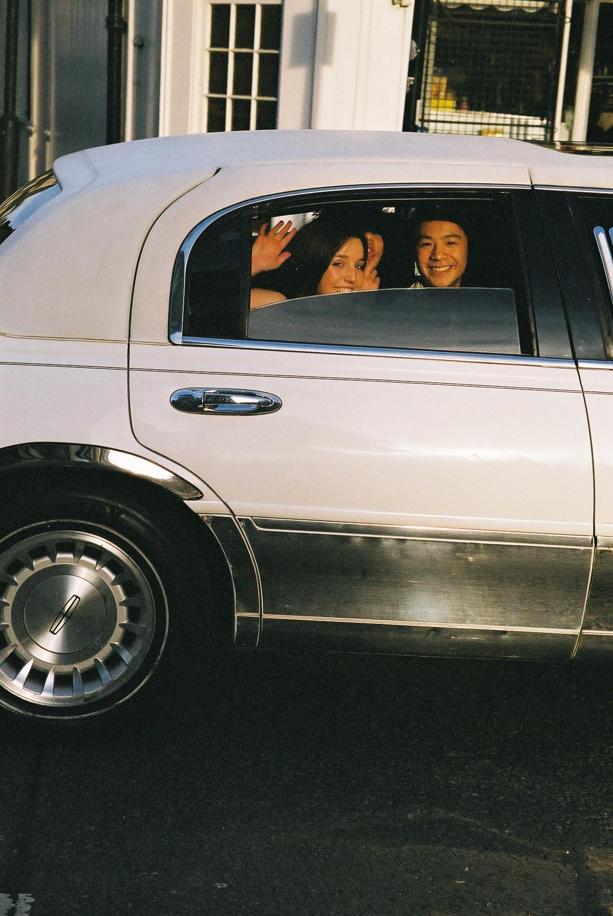 Teens in Limousine, Kings Cross.JPG