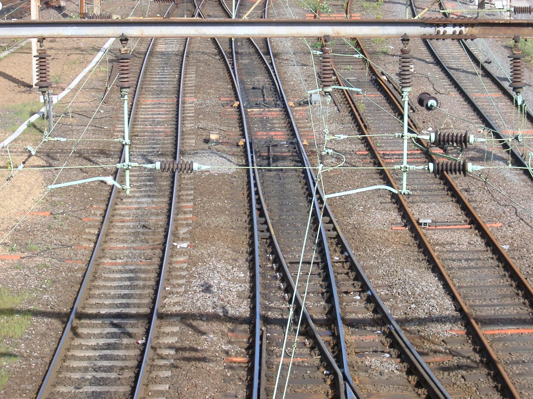 Train Tracks, Willesden Junction.JPG