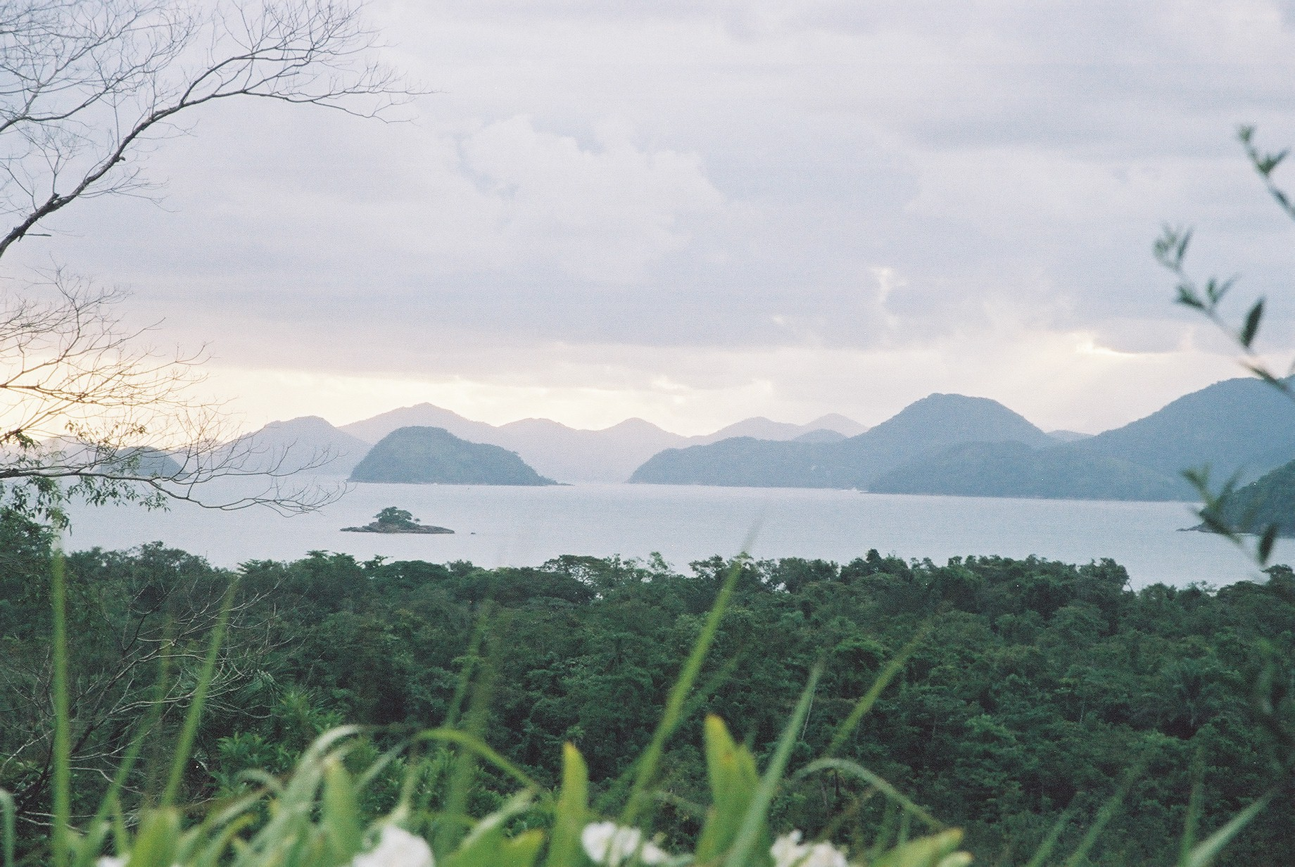 View of Islands, Picinguaba.JPG