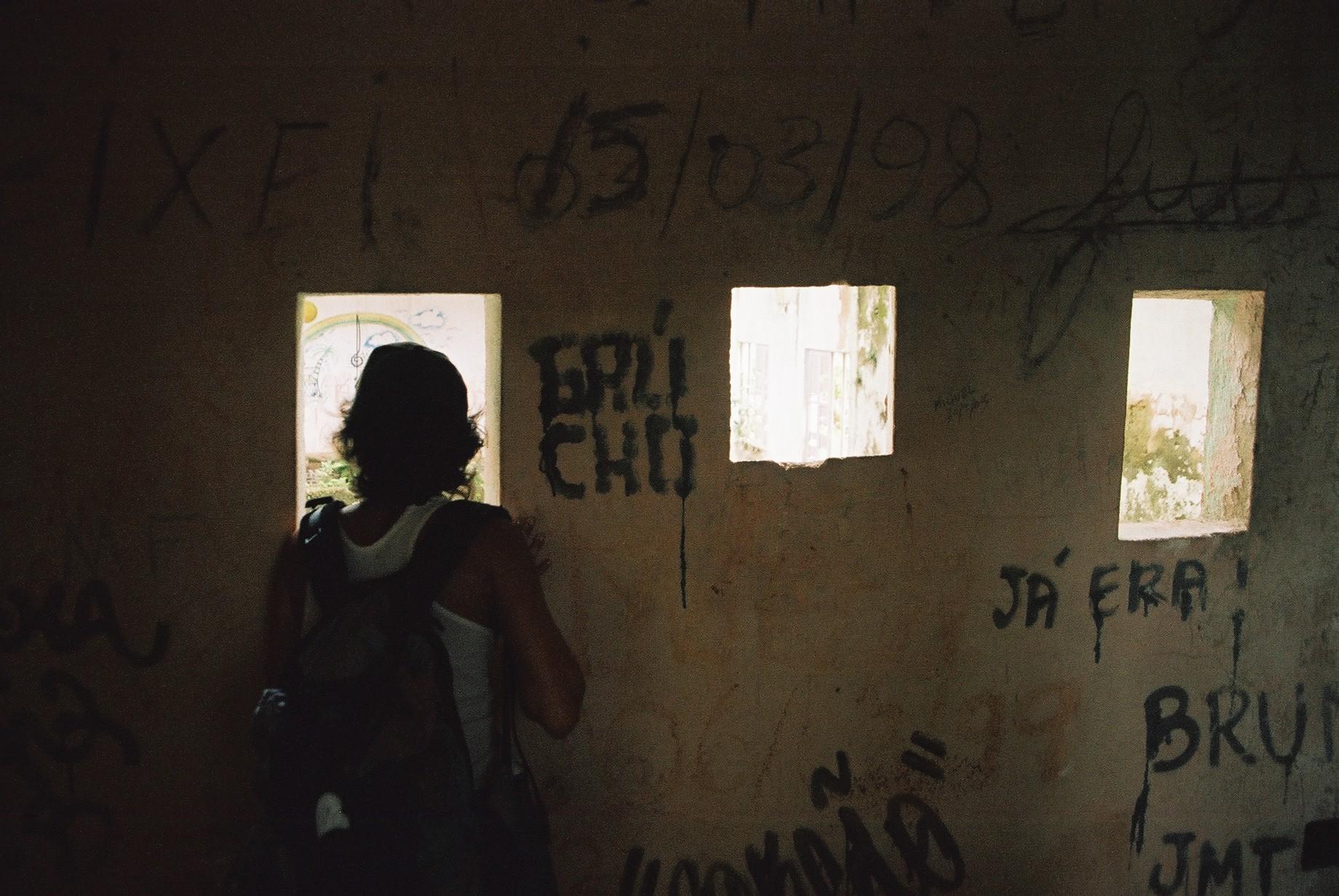 Viewing Gallery, Dos Rios Prison.JPG