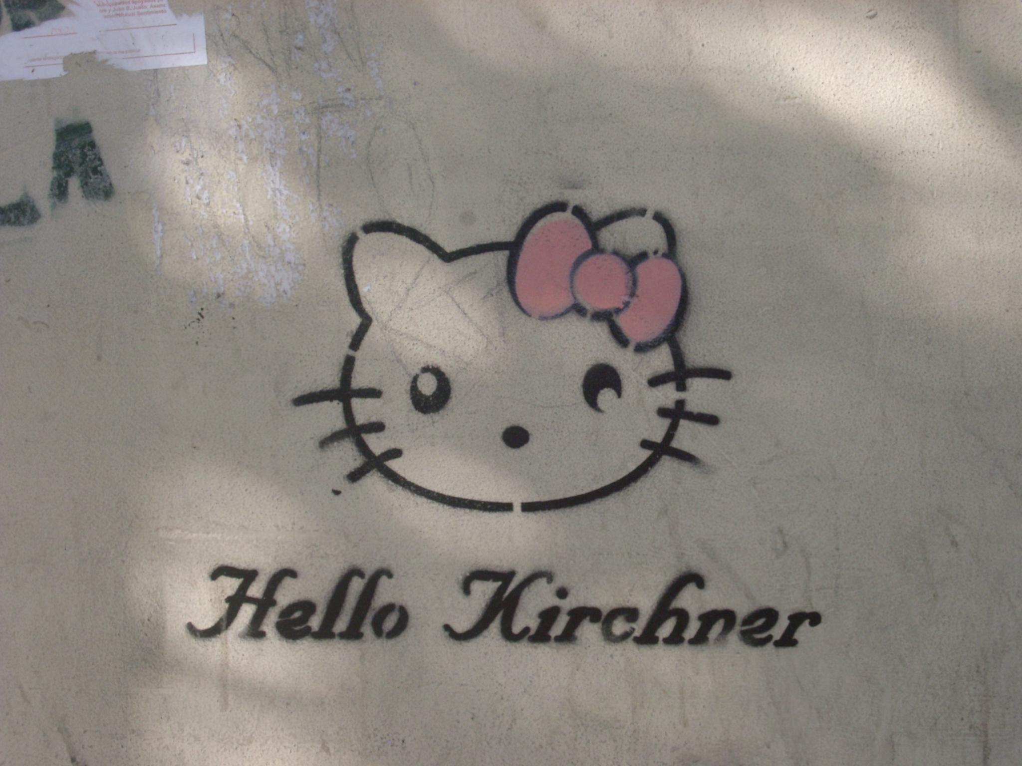 Hello Kirchner, Argentina.JPG