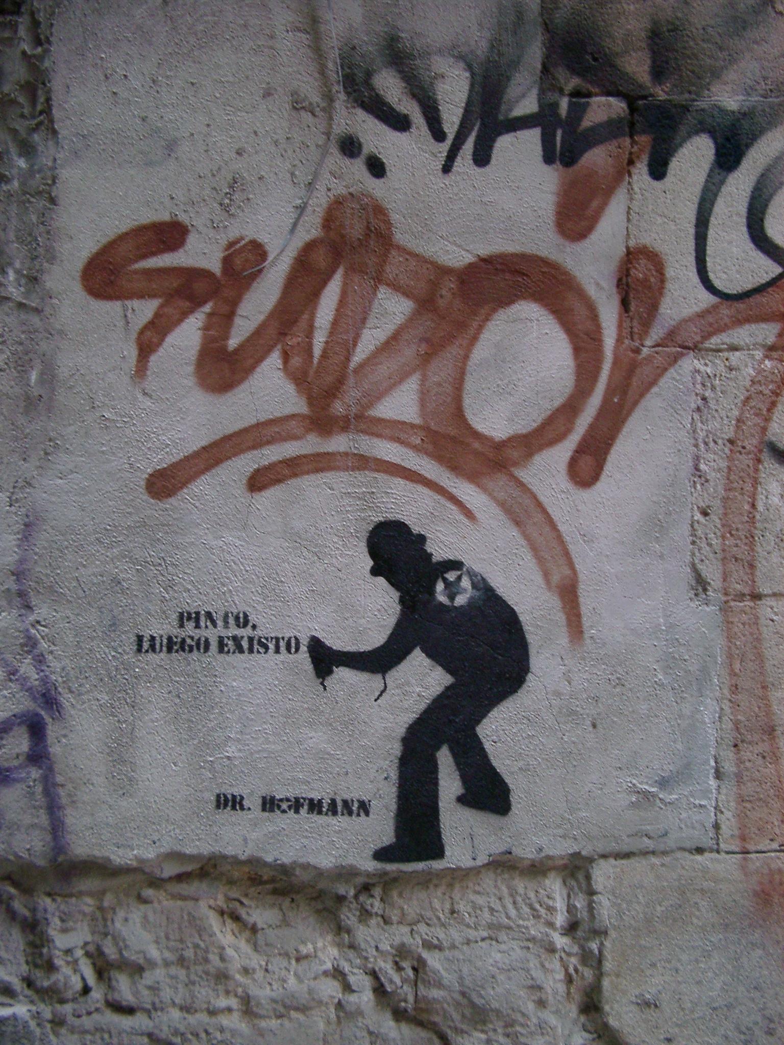 Pinto, Luego Existo, Barcelona.jpg