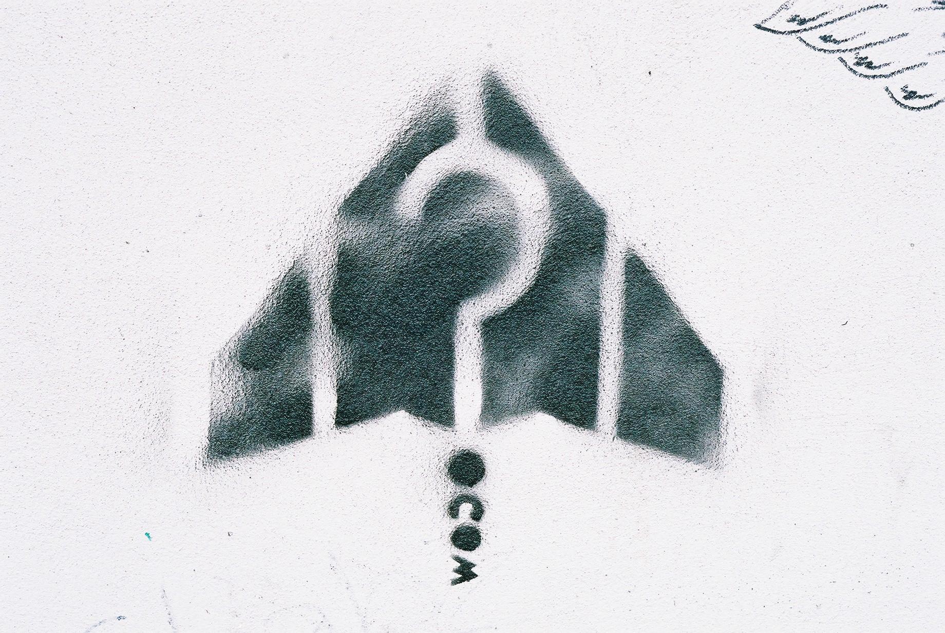 Stealth Question, Islington.JPG