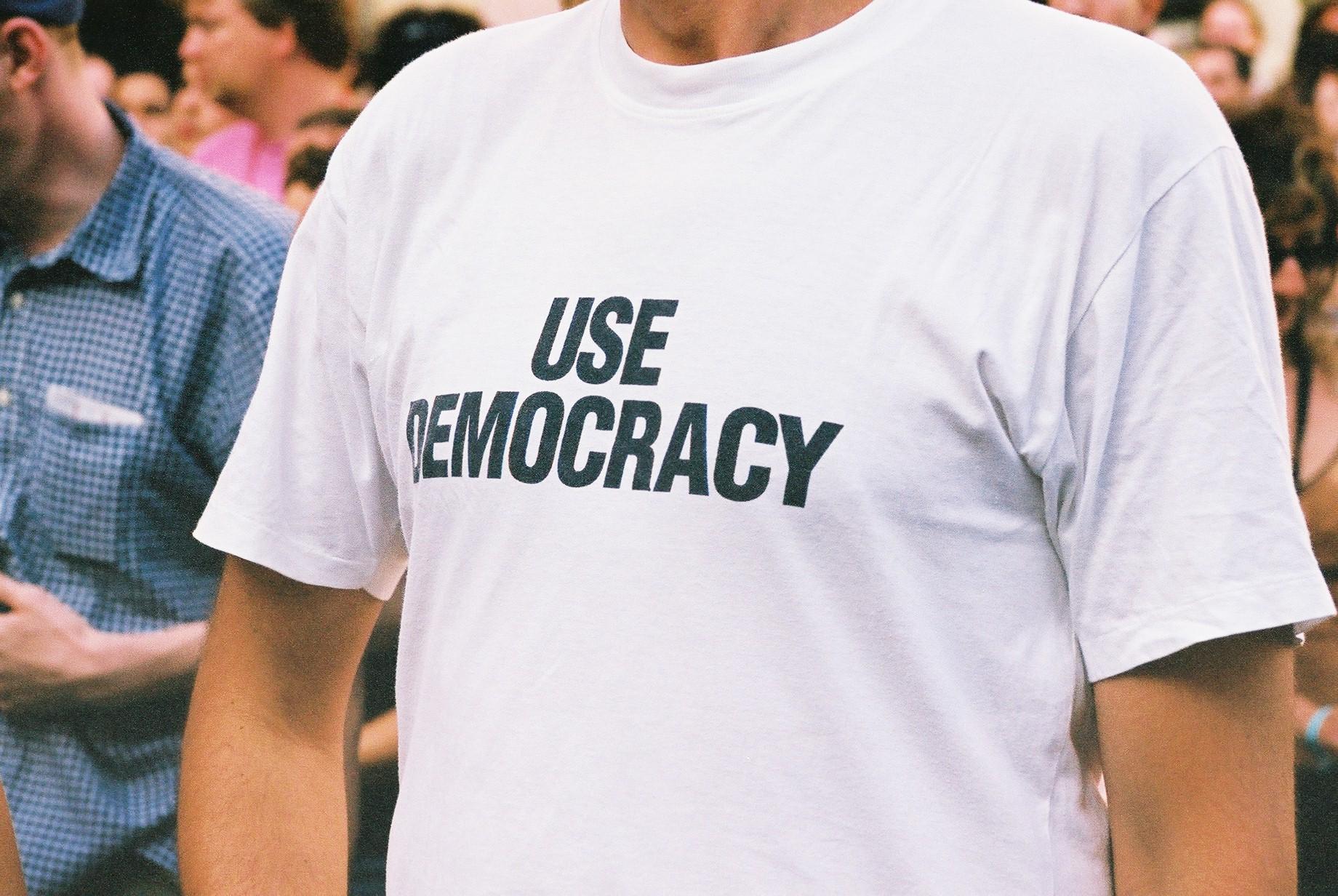Use Democracy, Sonar Festival.JPG