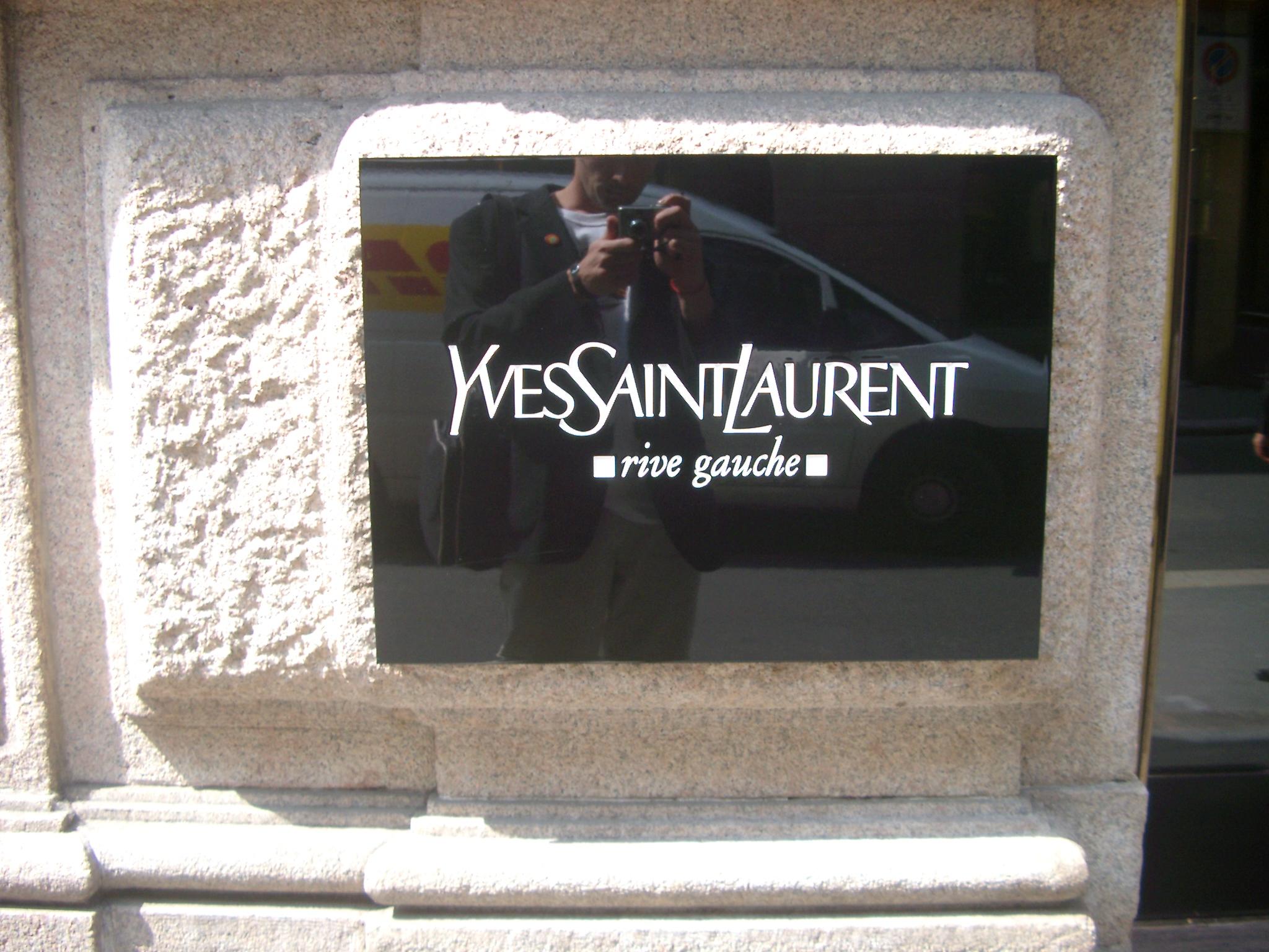Yves Saint Laurent, Milan.JPG