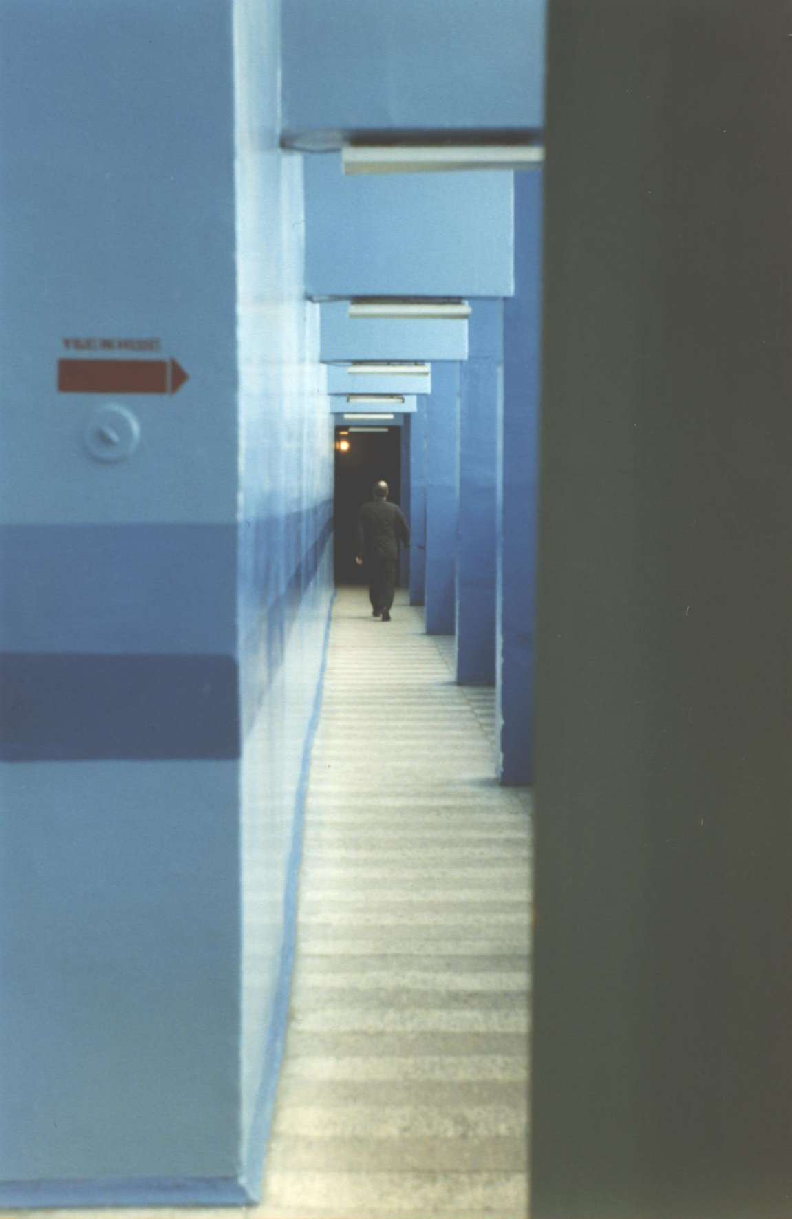 Corridor at the Kola Nuclear Power Plant. (JAMES FLINT)