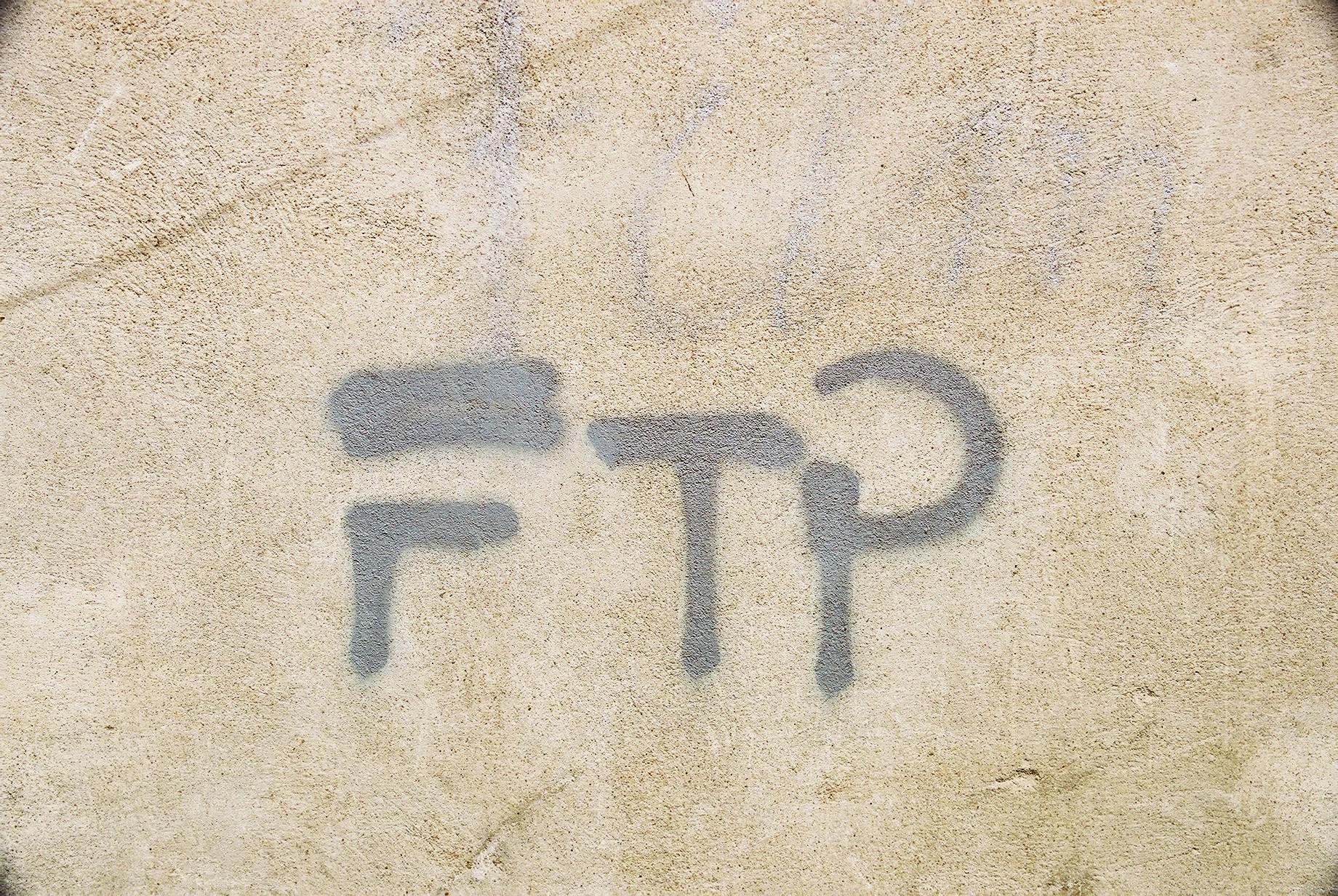 Graffito, Arles, France. (JAMES FLINT)