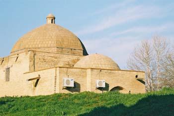 Temple air-con, Bukhara, Uzbekistan. (JAMES FLINT)