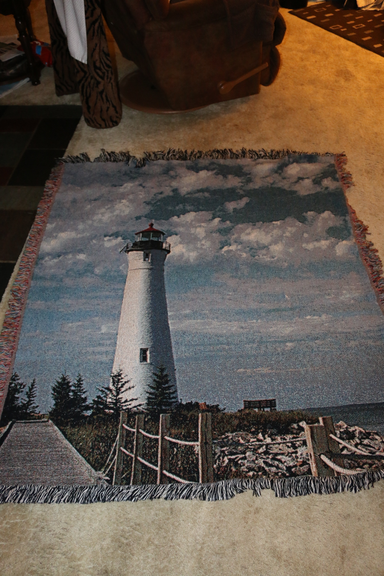 Woven Trow of Chrisp Point Lighthouse!