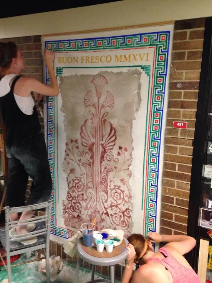 Fresco Learning Wall at WKU
