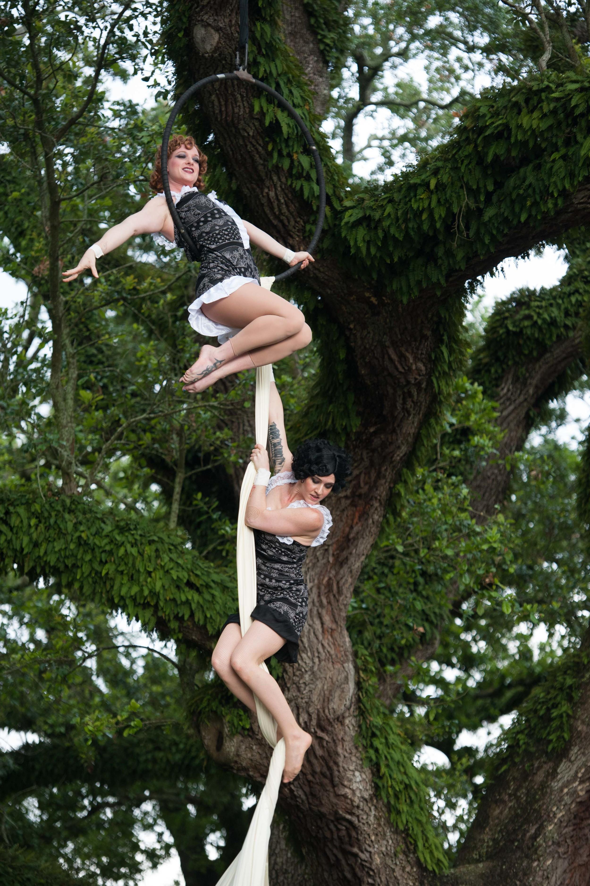 Dancers in the Oaks by Adrienne Battistella