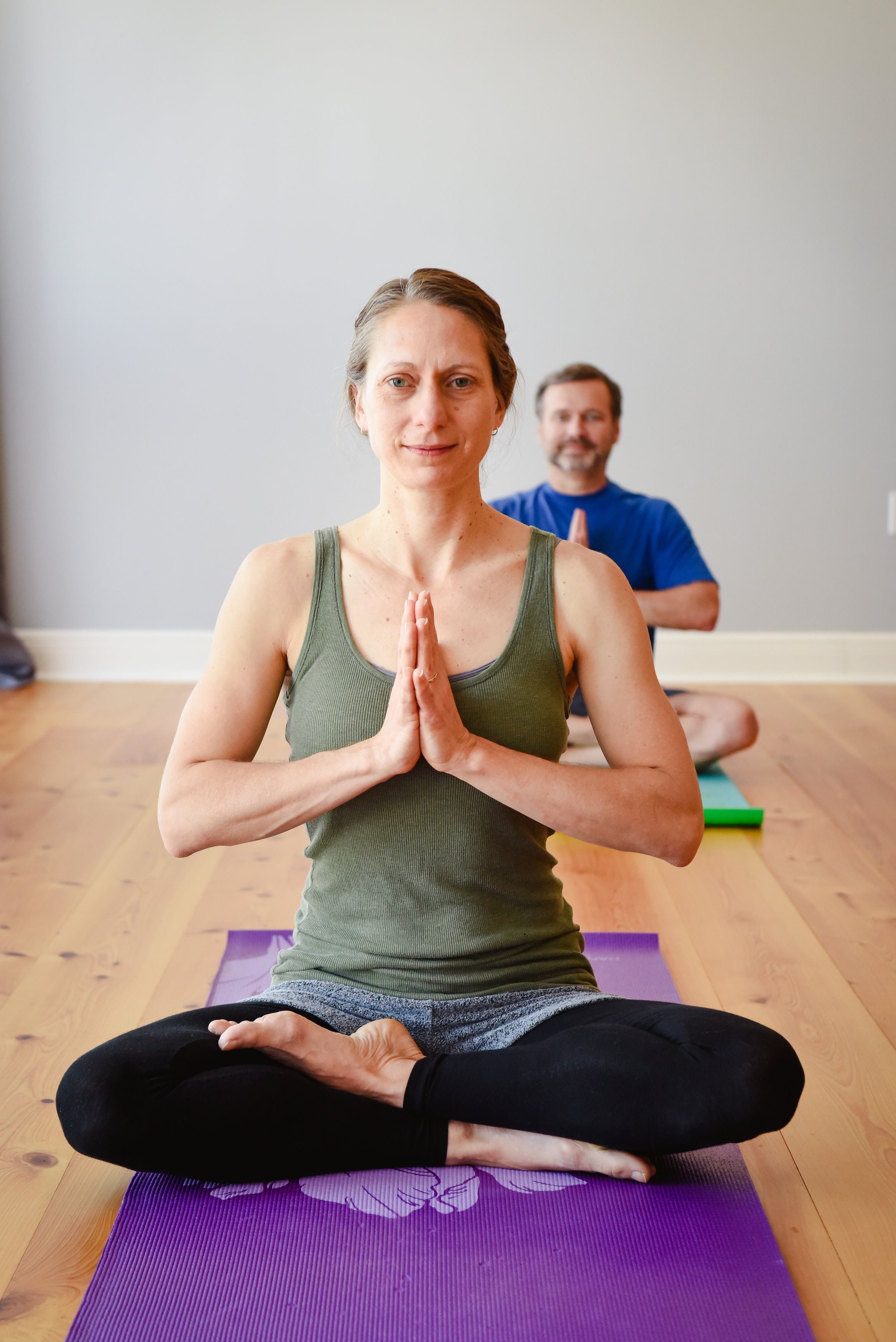 Personal Portrait of a Yoga Student