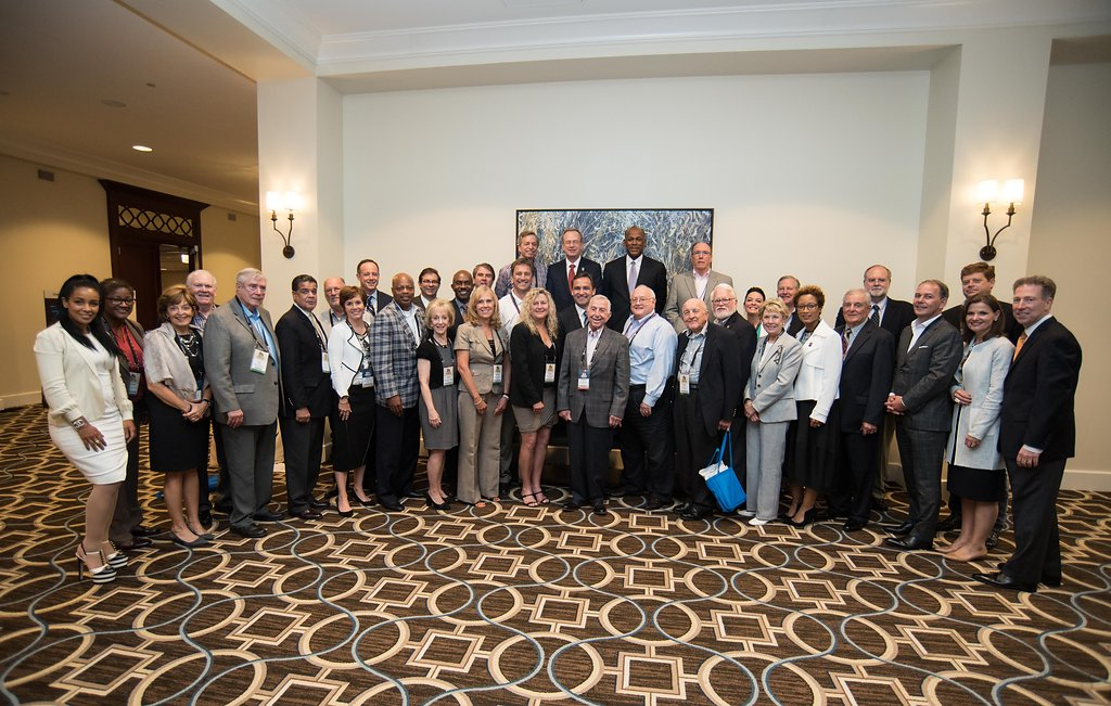 Group Photo of Board of Executives at Boys and Girls Club Conference in New Orleans by Adrienne Battistella