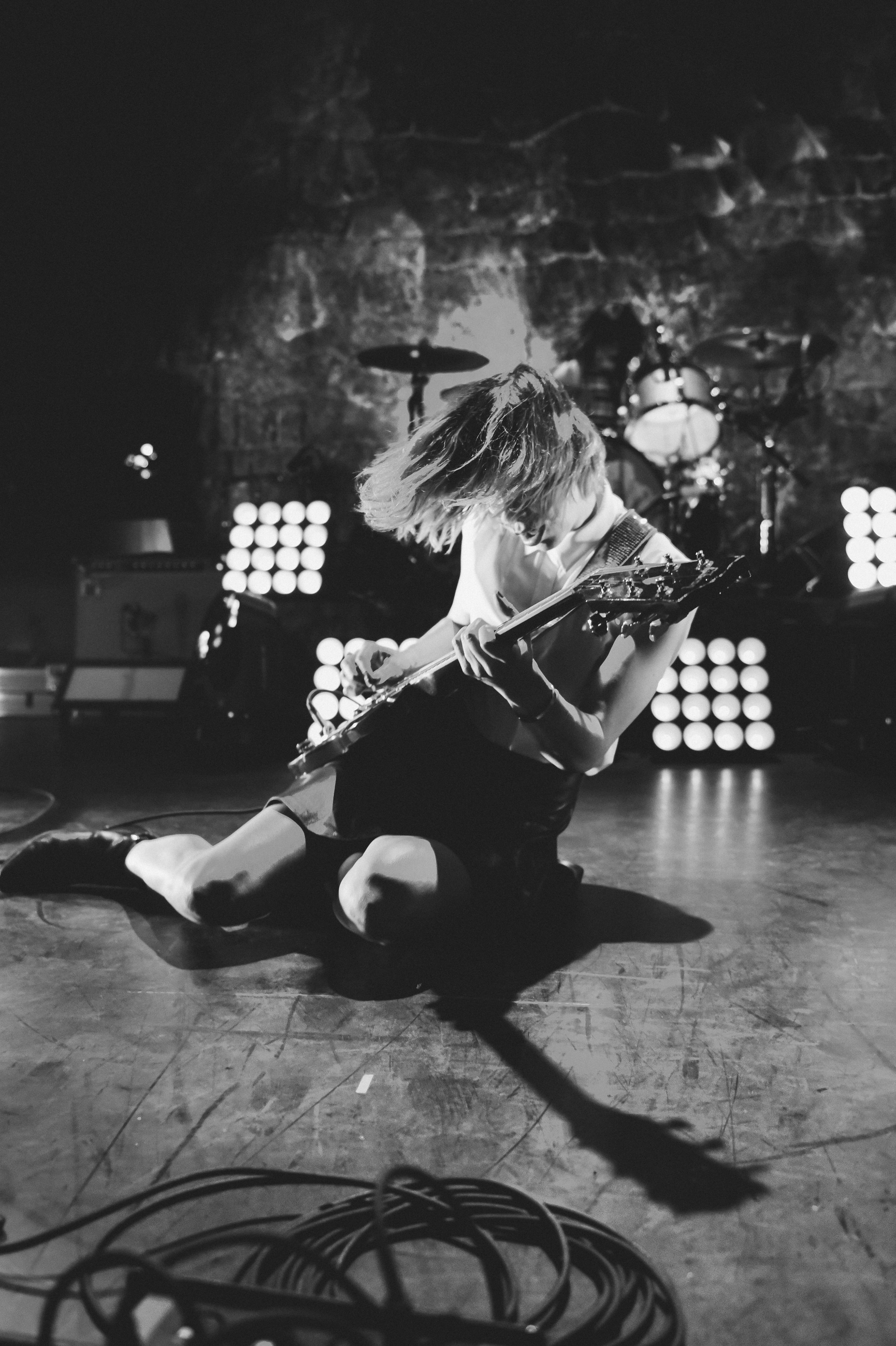 Sleater-Kinney at the Civic Theater by Adrienne Battistella