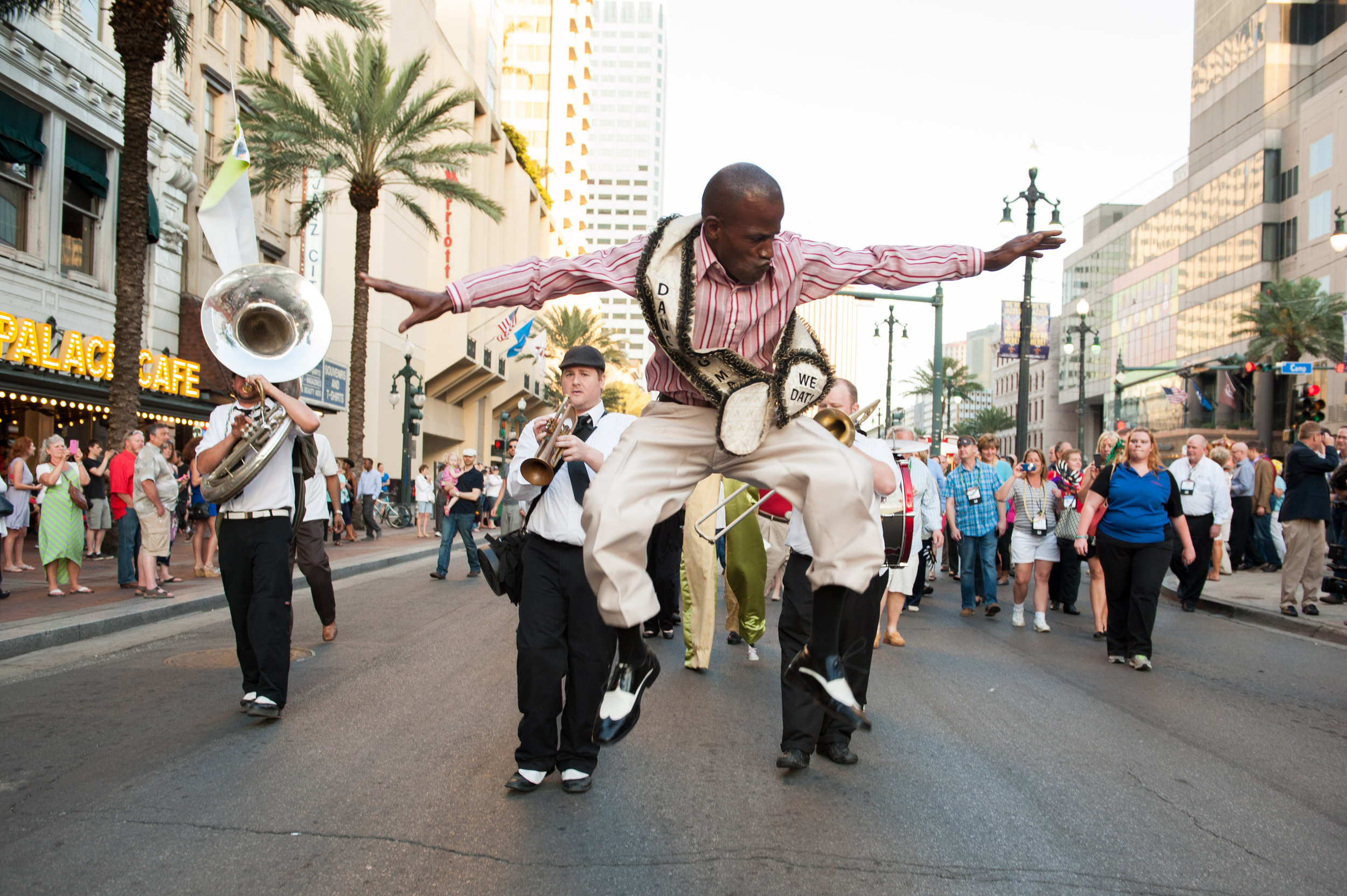 Second Line Corporate Event in New Orleans by Adrienne Battistella