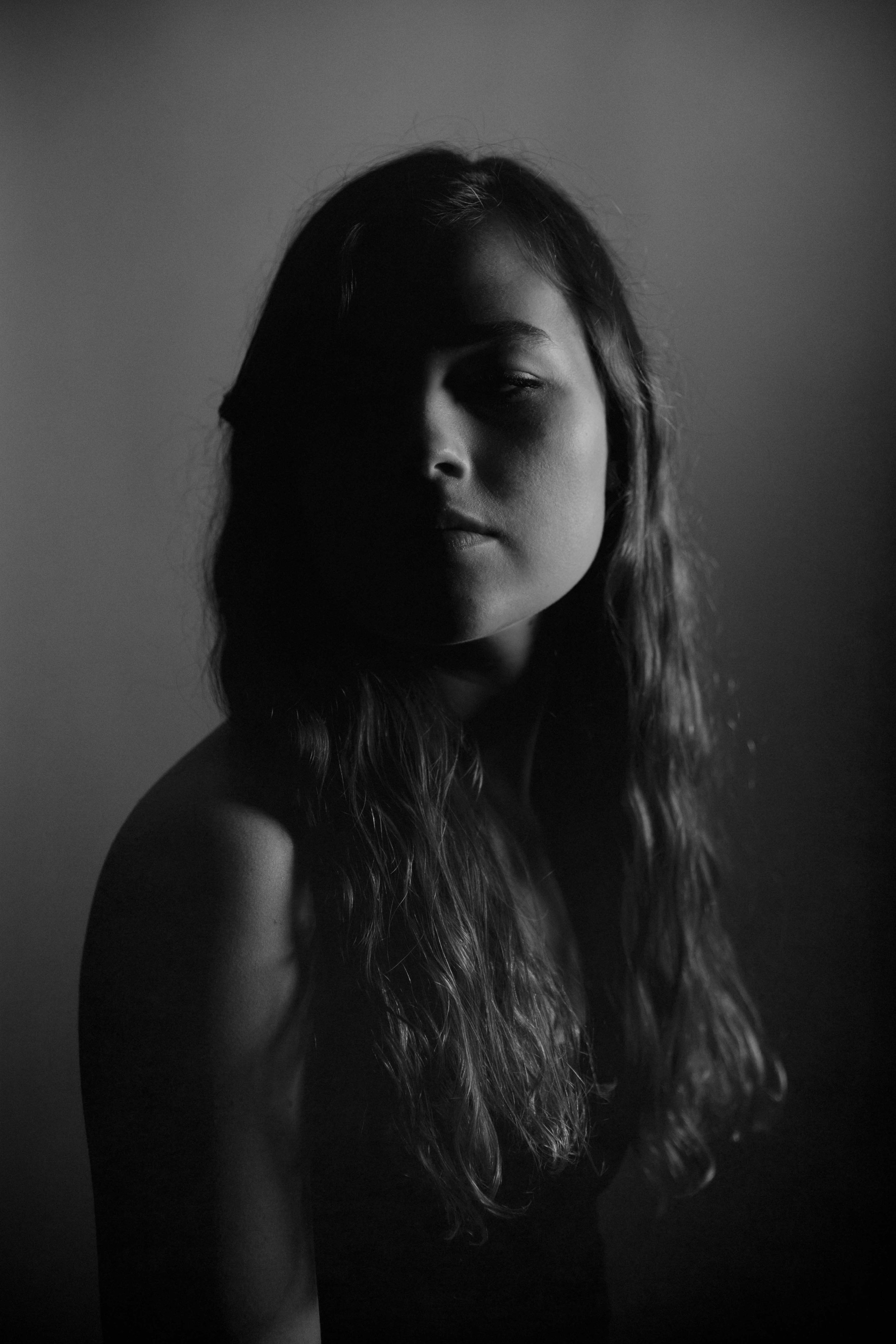 Black and White Portraits by Adrienne Battistella