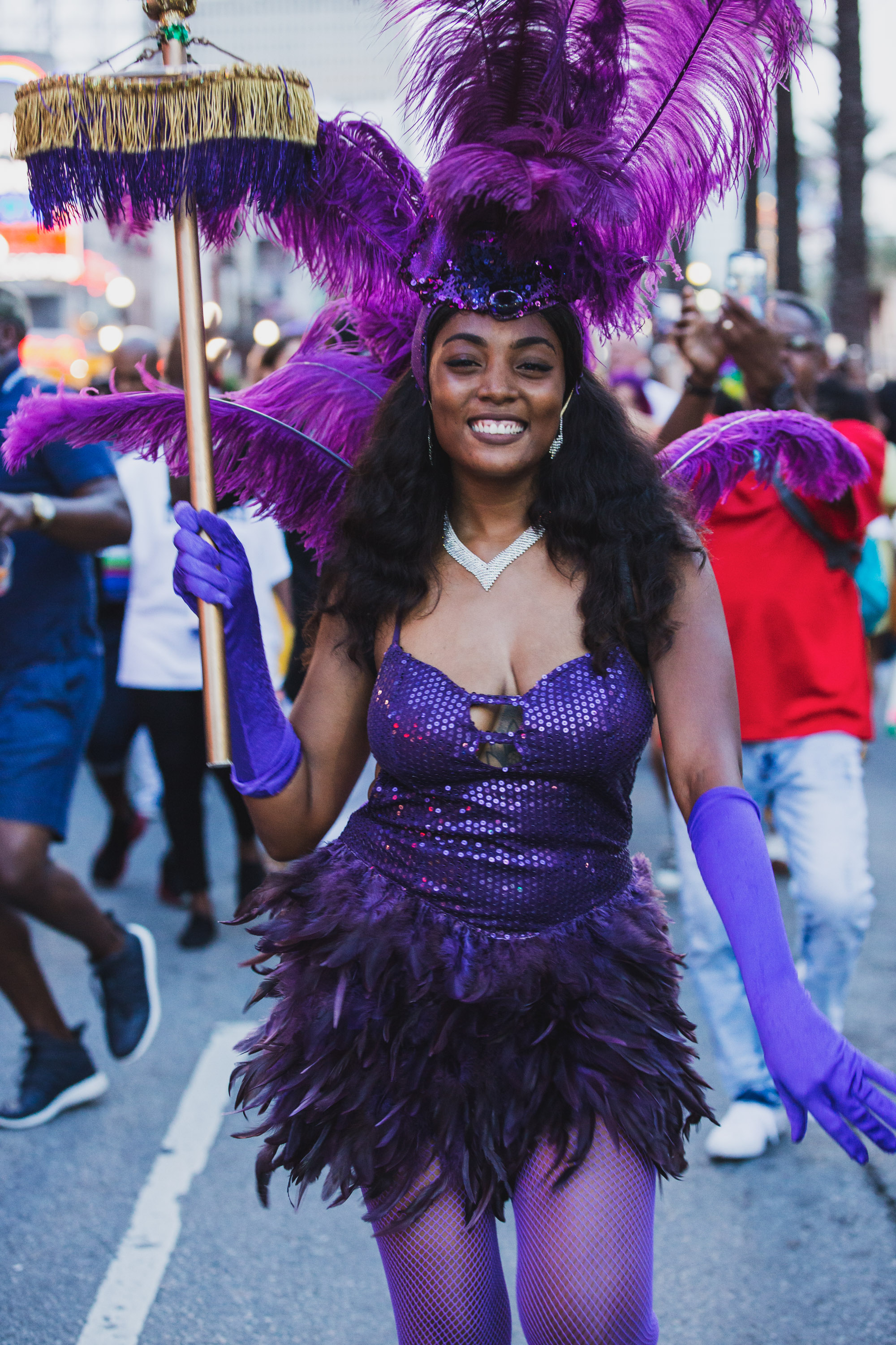 Corporate Event Photographer, Second Line Parade through New Orleans by Adrienne Battistella 2018