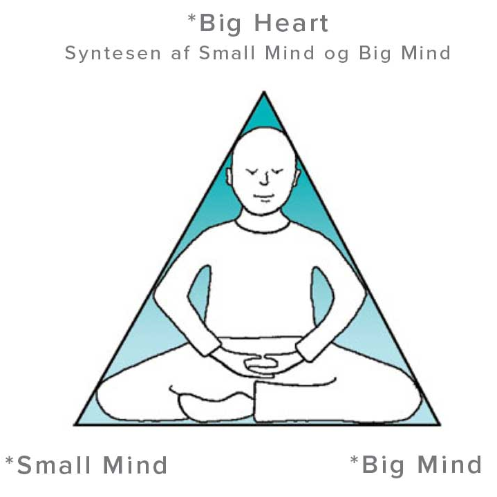 Graphic of person meditating from Charlotte Juul's Corework Website