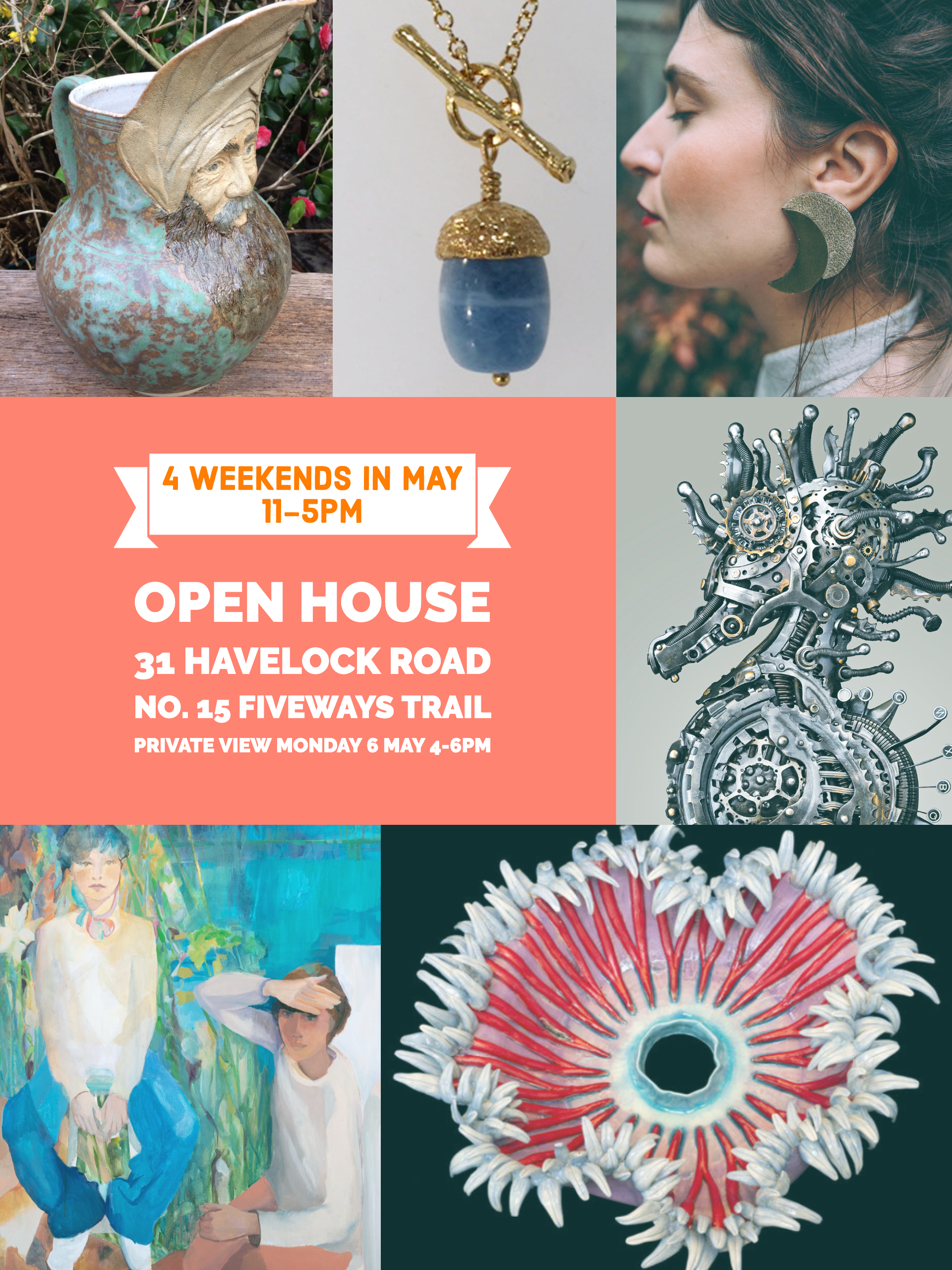 6 Artists at 31 Havelock Road, Brighton