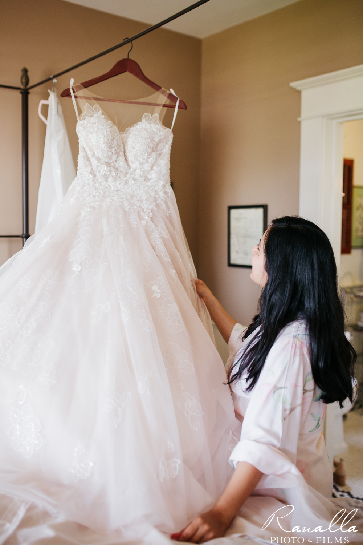Cass House Wedding Photos-san luis obispo wedding photographer-Wedding Dress