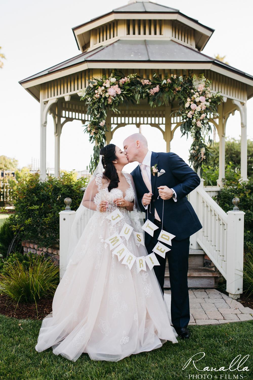 Cass House Wedding Photos-san luis obispo wedding photographer-Bridal and Groom Photos