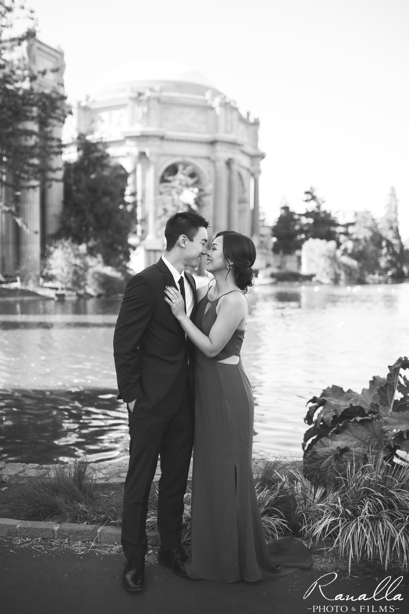 San Francisco Engagement Photography- Palace of Fine Arts- Wedding Photos- Ranalla Photo & Films