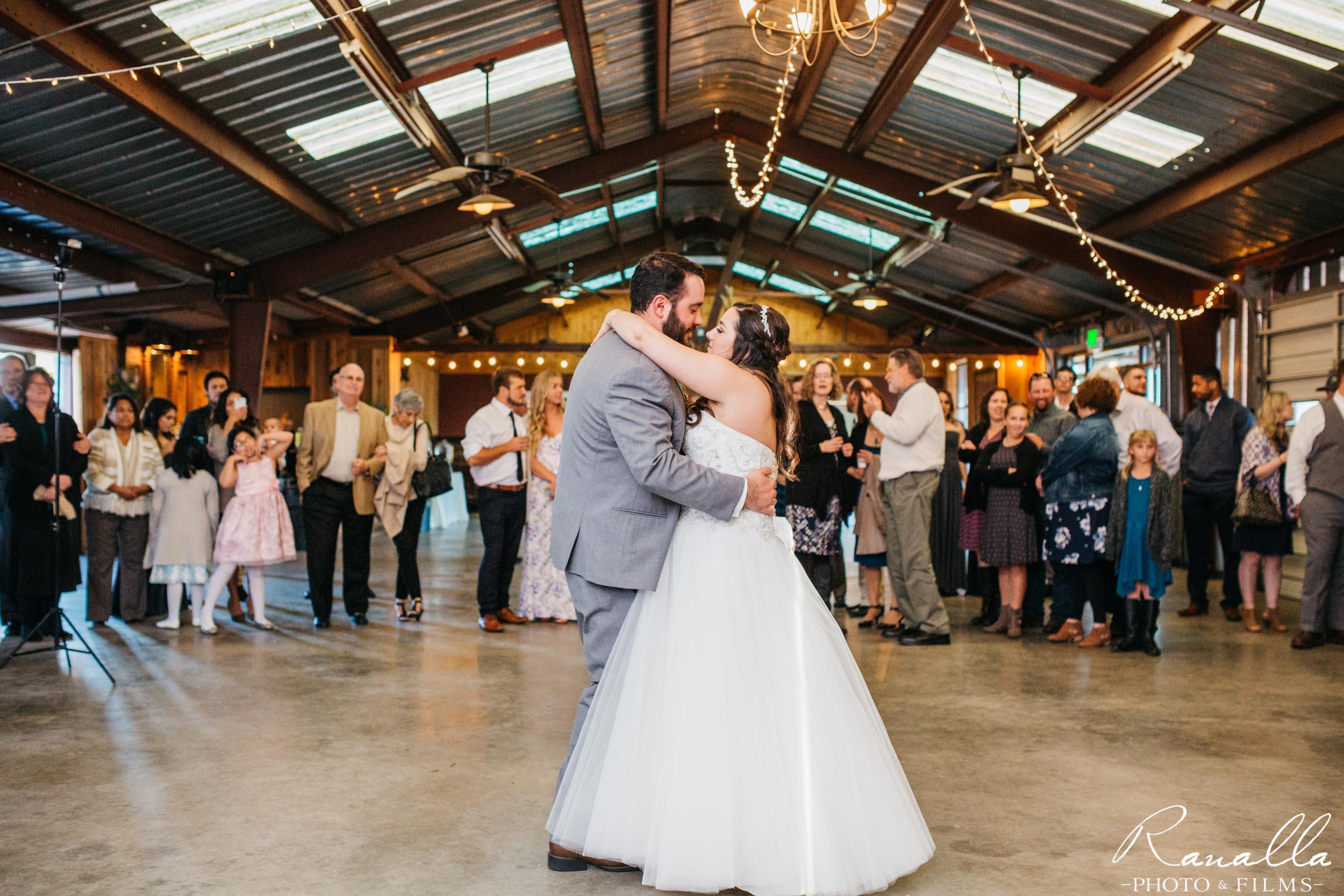Chico Wedding Photography- Bride & Groom First Dance- Elite Sound- Patrick Ranch Wedding Photos- Ranalla Photo & Films