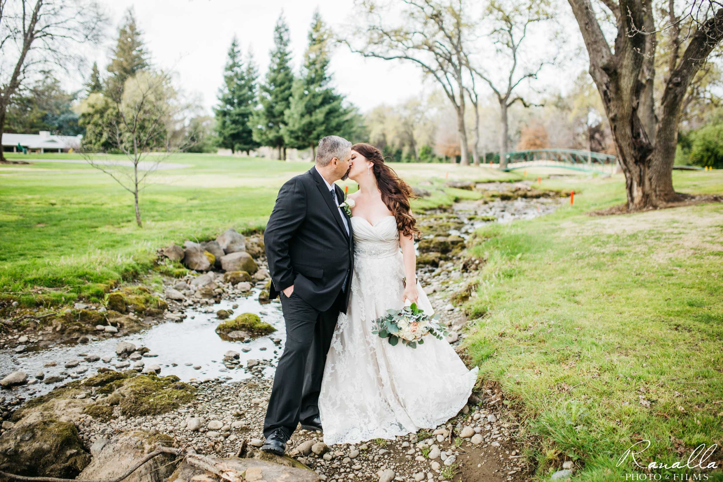 Chico Wedding Photography- Bride and Groom- Golf Course Wedding Venue- Butte Creek Country Club- Simply Elegant Bridal- Ranalla Photo & Films
