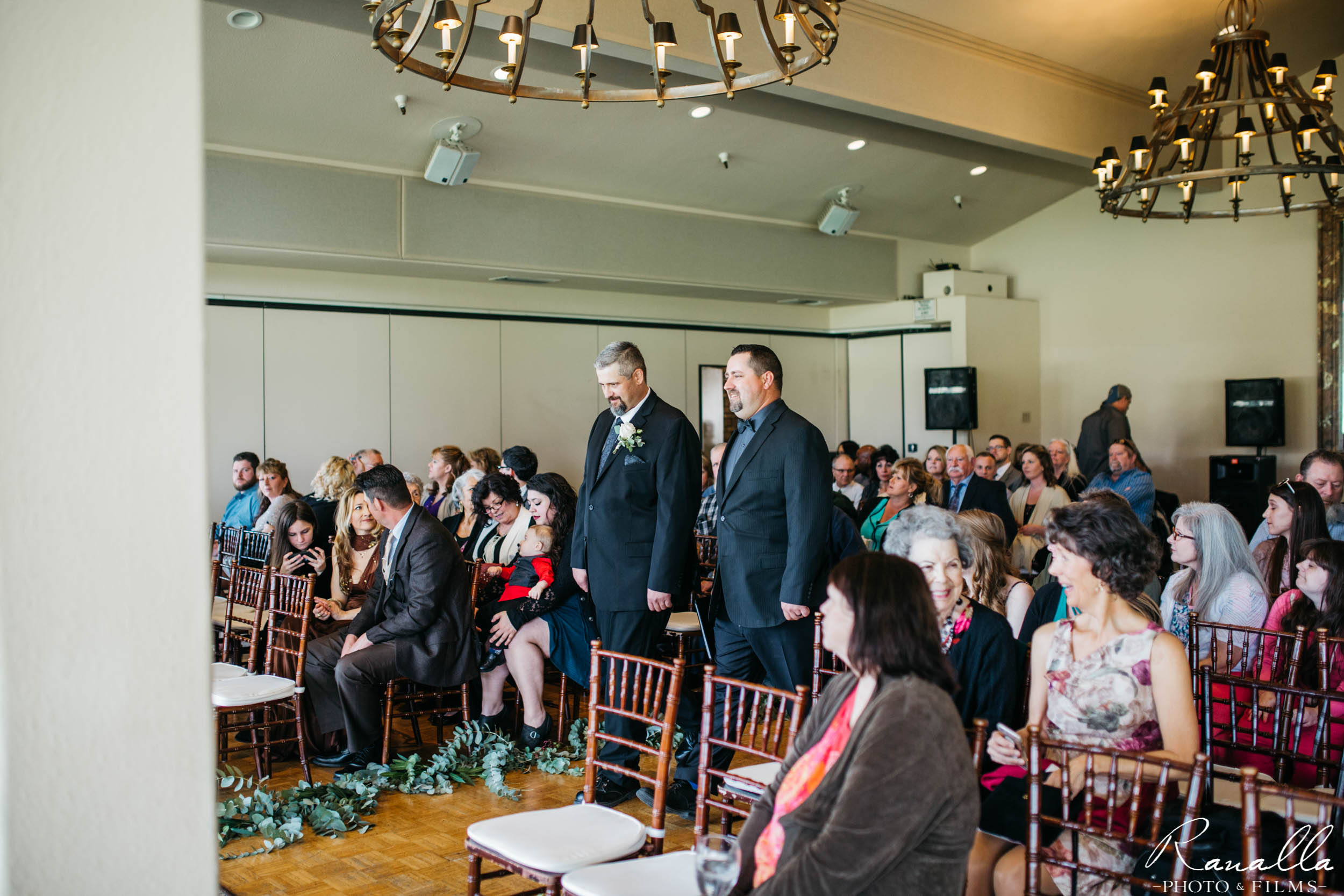 Chico Wedding Photography- Wedding Ceremony- Butte Creek Country Club- Ranalla Photo & Films