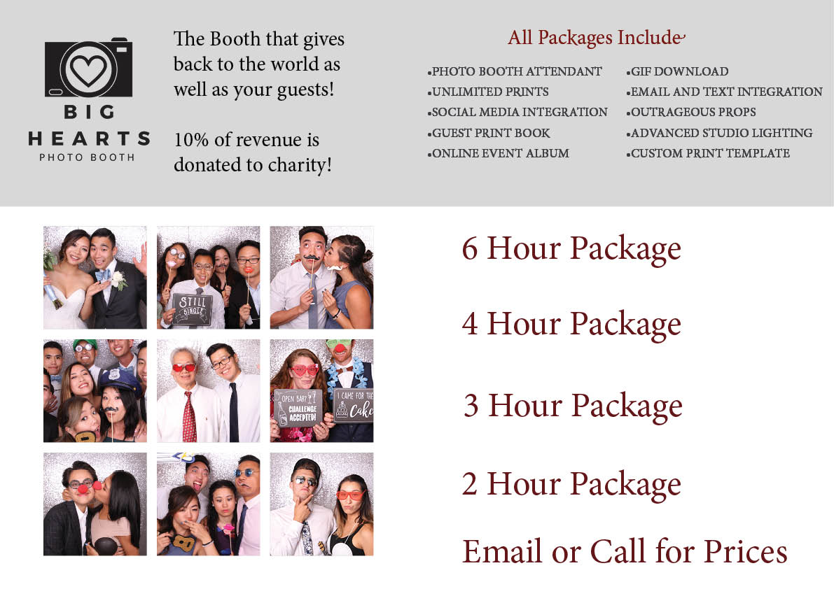 Chico Photo Booth Pricing Guide