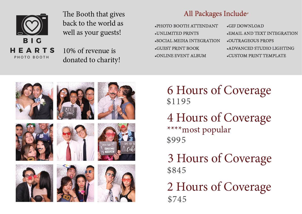Sacramento Photo Booth Pricing Guide