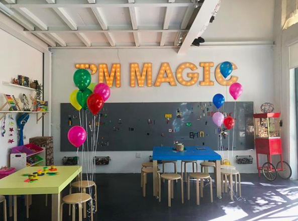 Creating Me - Children's amusement center in Ironside Miami, Florida. A dynamic space where children can learn to create themselves through self-expression, awareness, and empowerment.