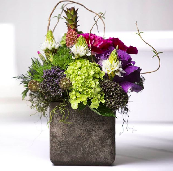 About - Flowers by the stem or bunch, handheld bouquets, vases, floral arrangements, mini and mason jar arrangements, decorative rocks, moss, pedal bags, gift plants, and orchids.