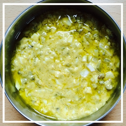 A not very successful attempt at sauce gribiche